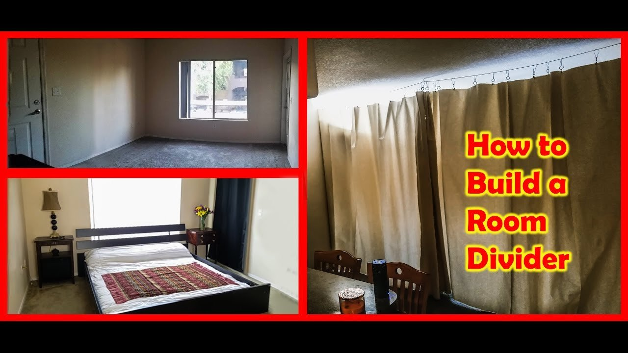 Curtains for Small Bedroom Windows Awesome How to Build A Curtain Room Divider Tiny Home Living