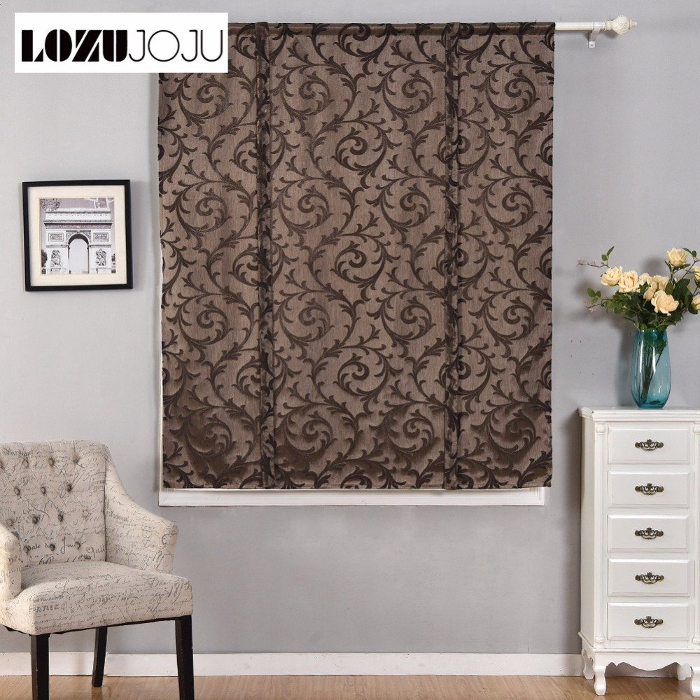 Curtains for Small Bedroom Windows Fresh Us $12 28 Off Lozujoju Short Roman Curtains Blackout Endless Stripe Jacquard for Kitchen Doors Small Windows Fabric for Living Room Bedroom In