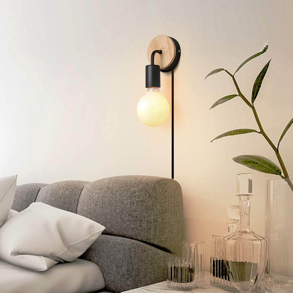 Cute Lamps for Bedroom Awesome Cute and Simple Round Bulb Headboard Wall Light
