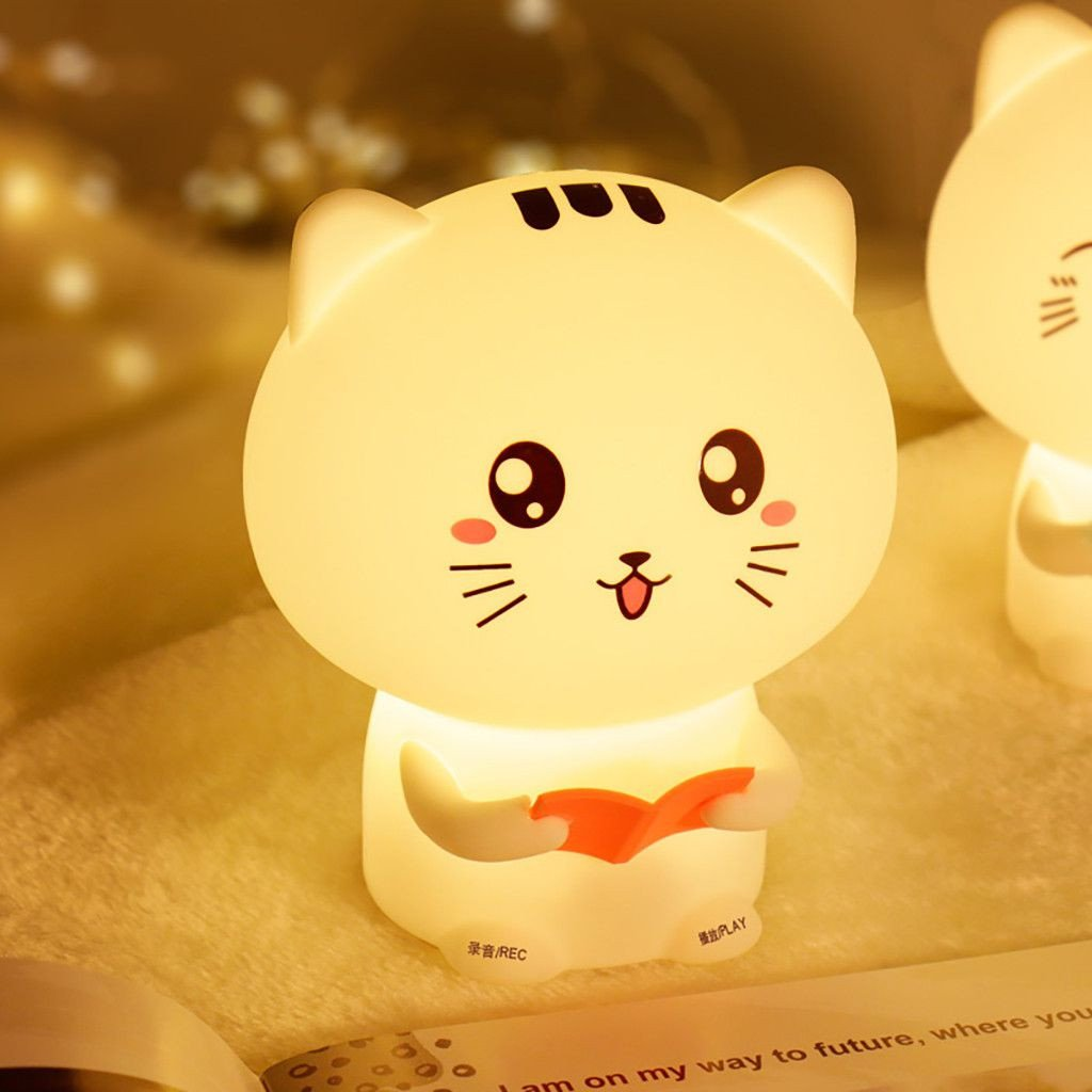 Cute Lamps for Bedroom Inspirational Cute Cat Lights organic Silicone Night Light Usb