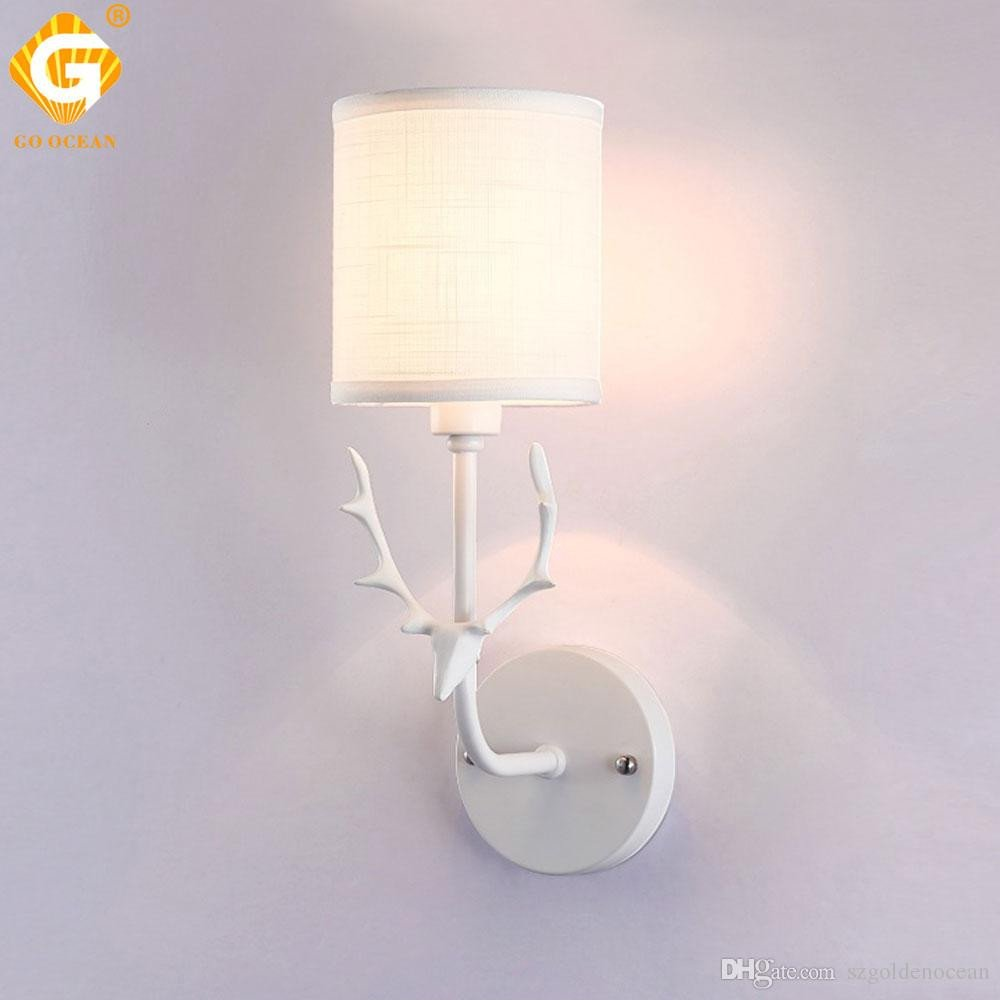 Cute Lamps for Bedroom Unique 2019 White Gold Bedside Wall Lamps Creative Wall Light Led E27 Bulbs Interior Upward Sconces Bedside Lamp Indoor Bed Room Lights From Szgoldenocean