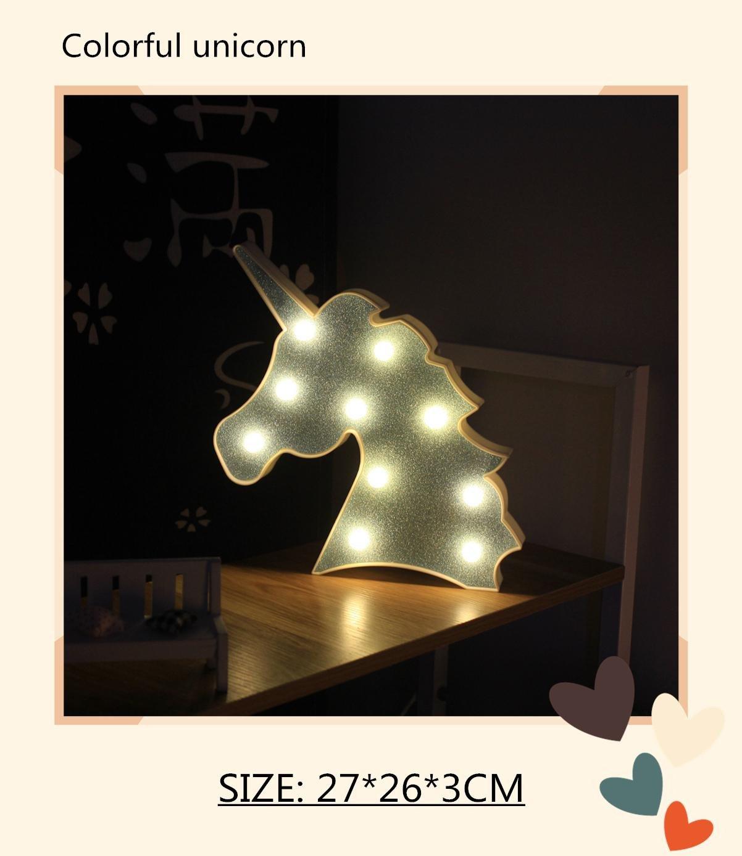 Cute Light for Bedroom Beautiful 2019 Party Decoration Lights Led Night Light Baby Cartoon Cute Giraffe Unicorn Warm Nursing Lamp Children Bedroom Lighting From Zhong8889 $5 98