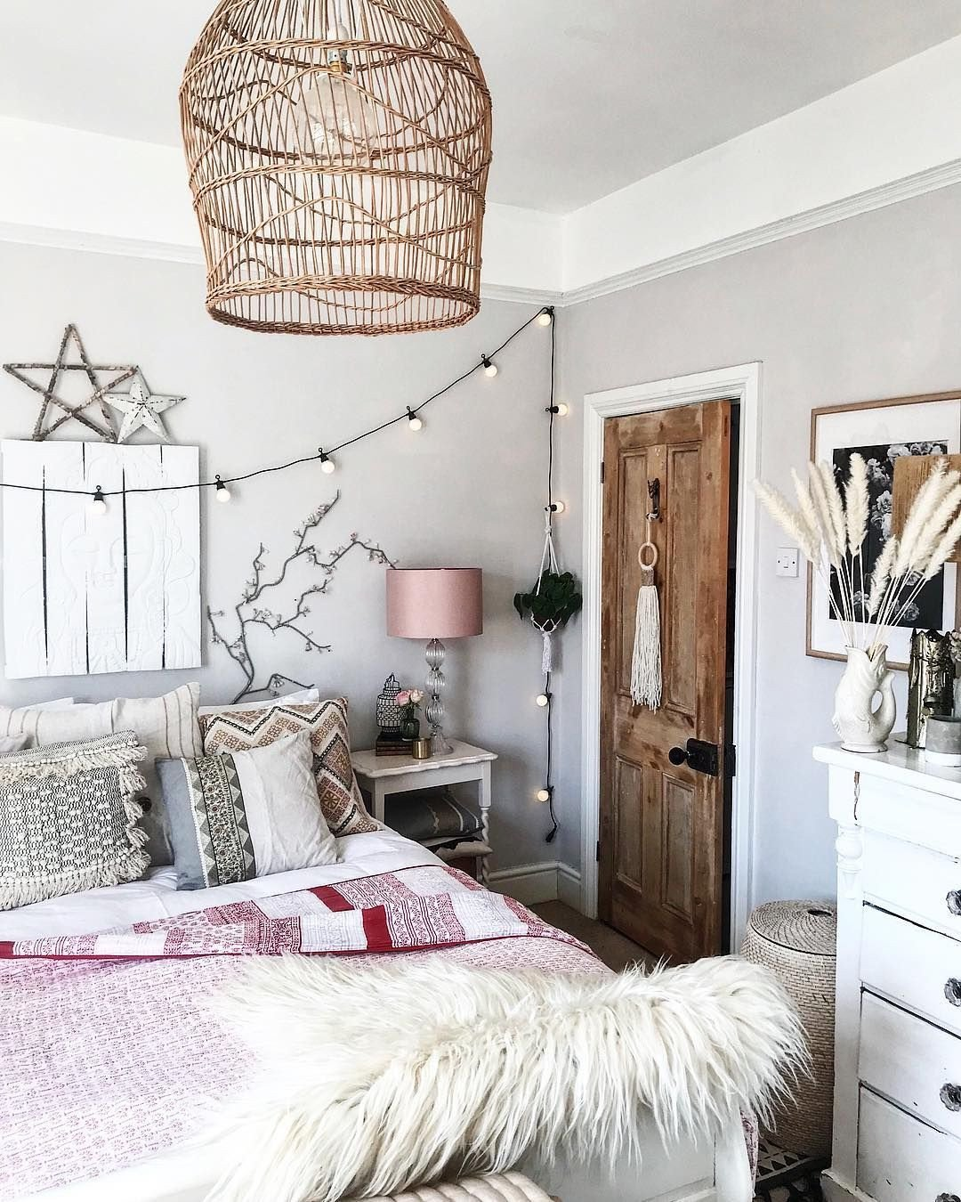 Cute Rugs for Bedroom Awesome A Calm and Inspiring Bohemian Bedroom with Rattan Style