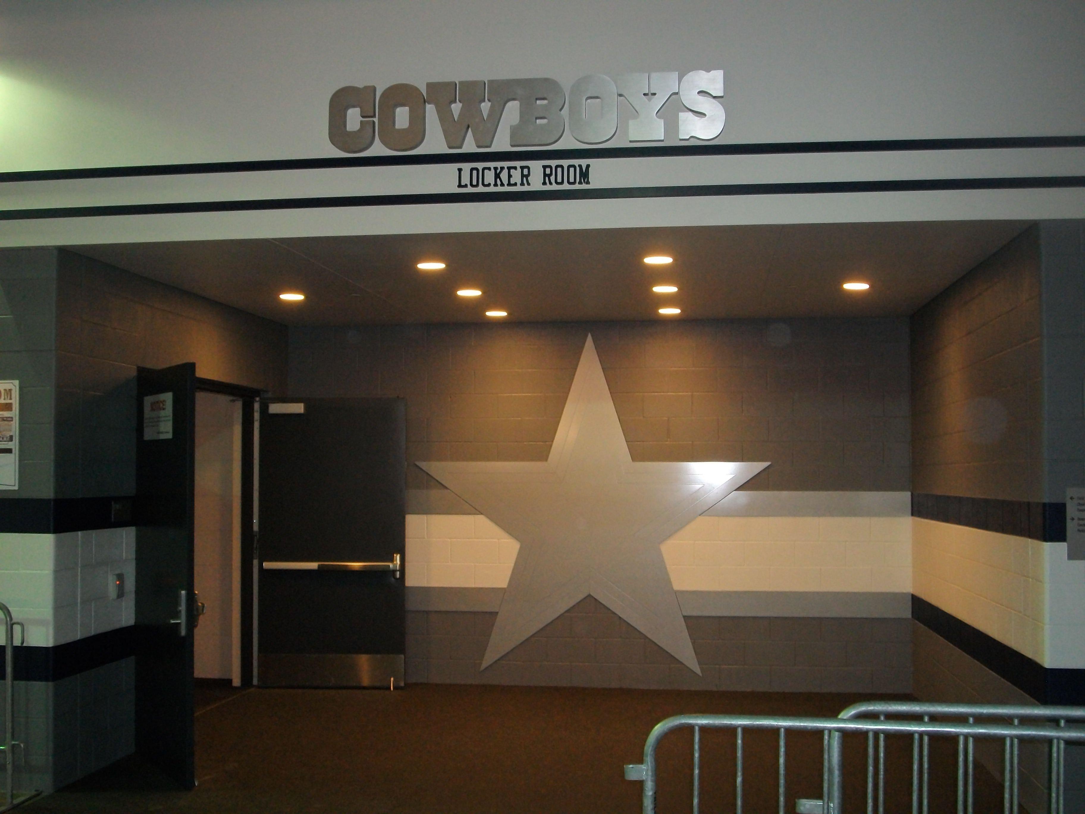 Dallas Cowboy Bedroom Set Fresh Dallas Cowboys Locker Room Entrance