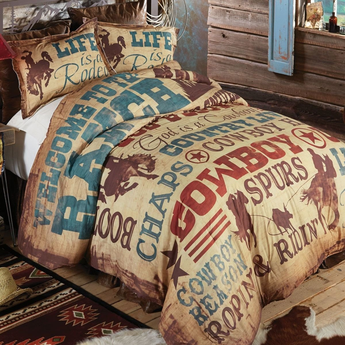 Dallas Cowboy Bedroom Set Luxury Cowboy Lifestyle forter King