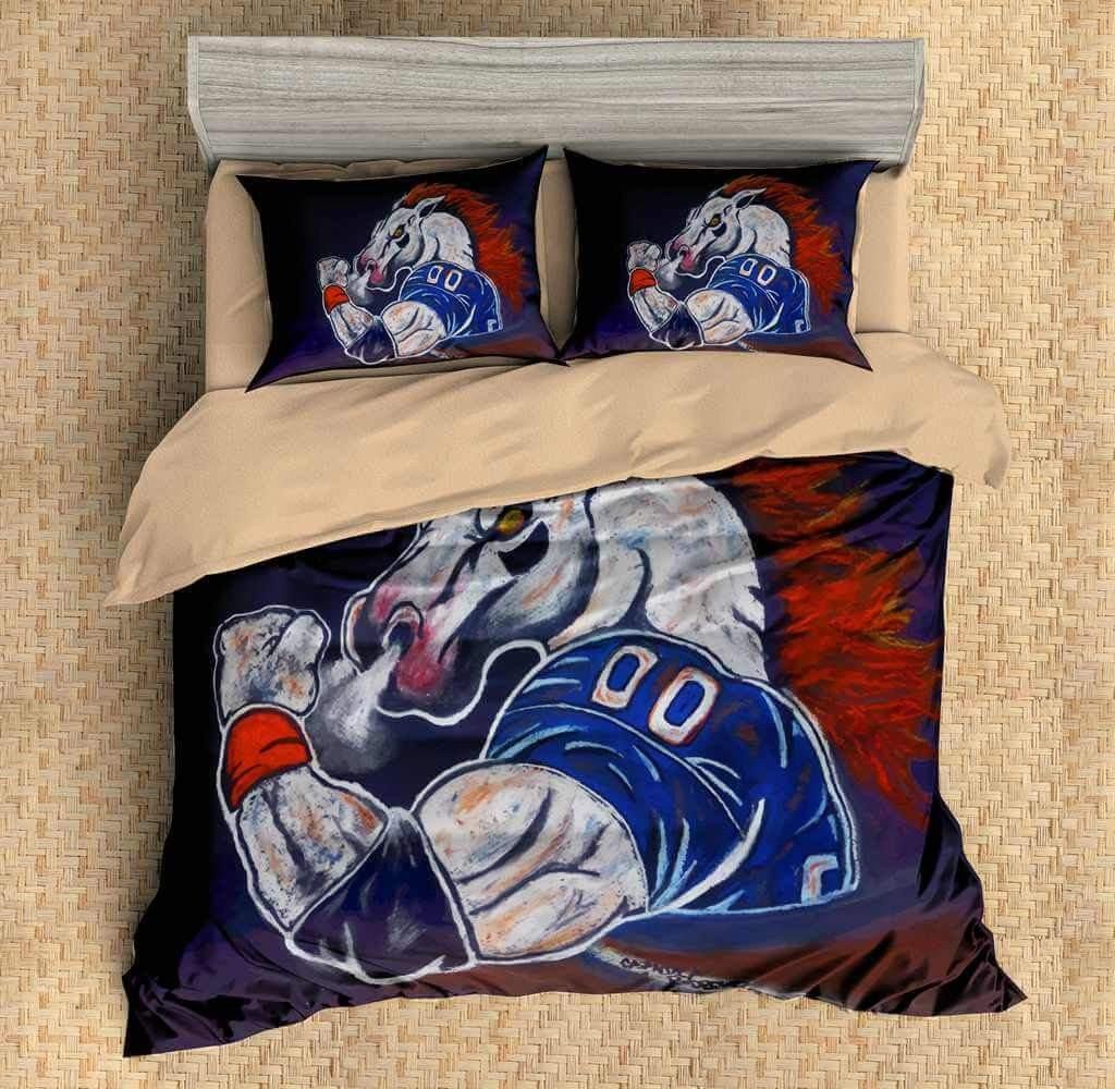 Dallas Cowboy Bedroom Set Luxury Sport Customized Bedding Threelemonshome