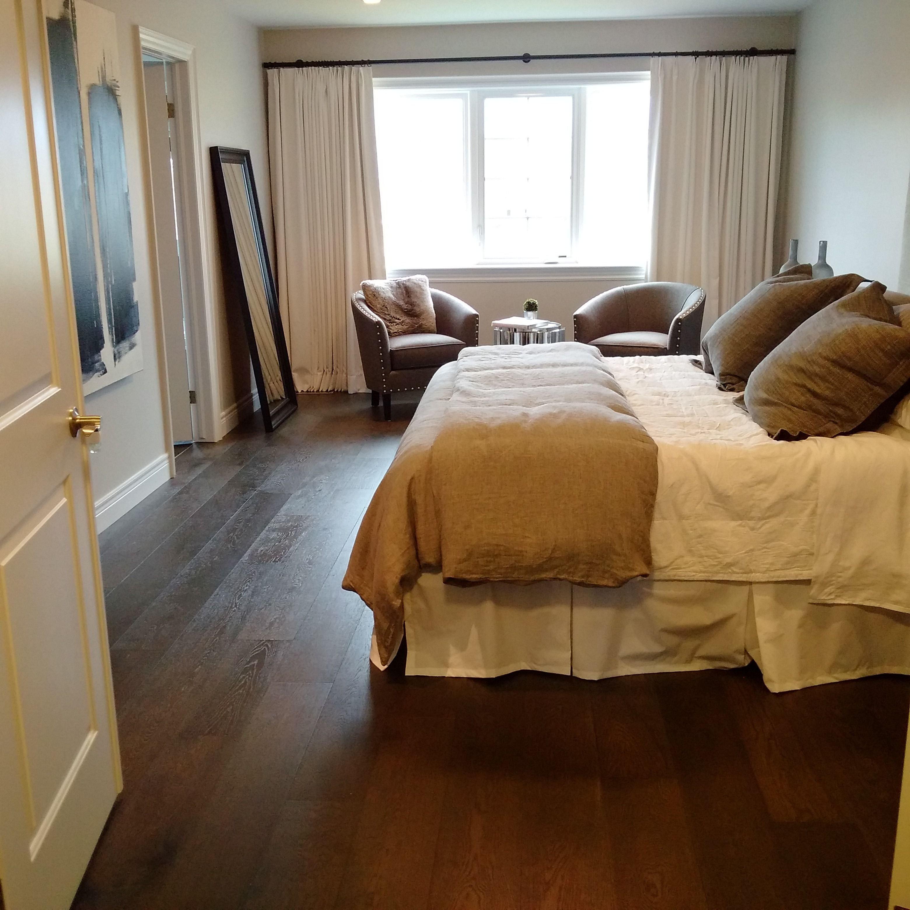 Dark Wood Floor Bedroom Beautiful Cité Designer White Oak Character Lauzon Hardwood