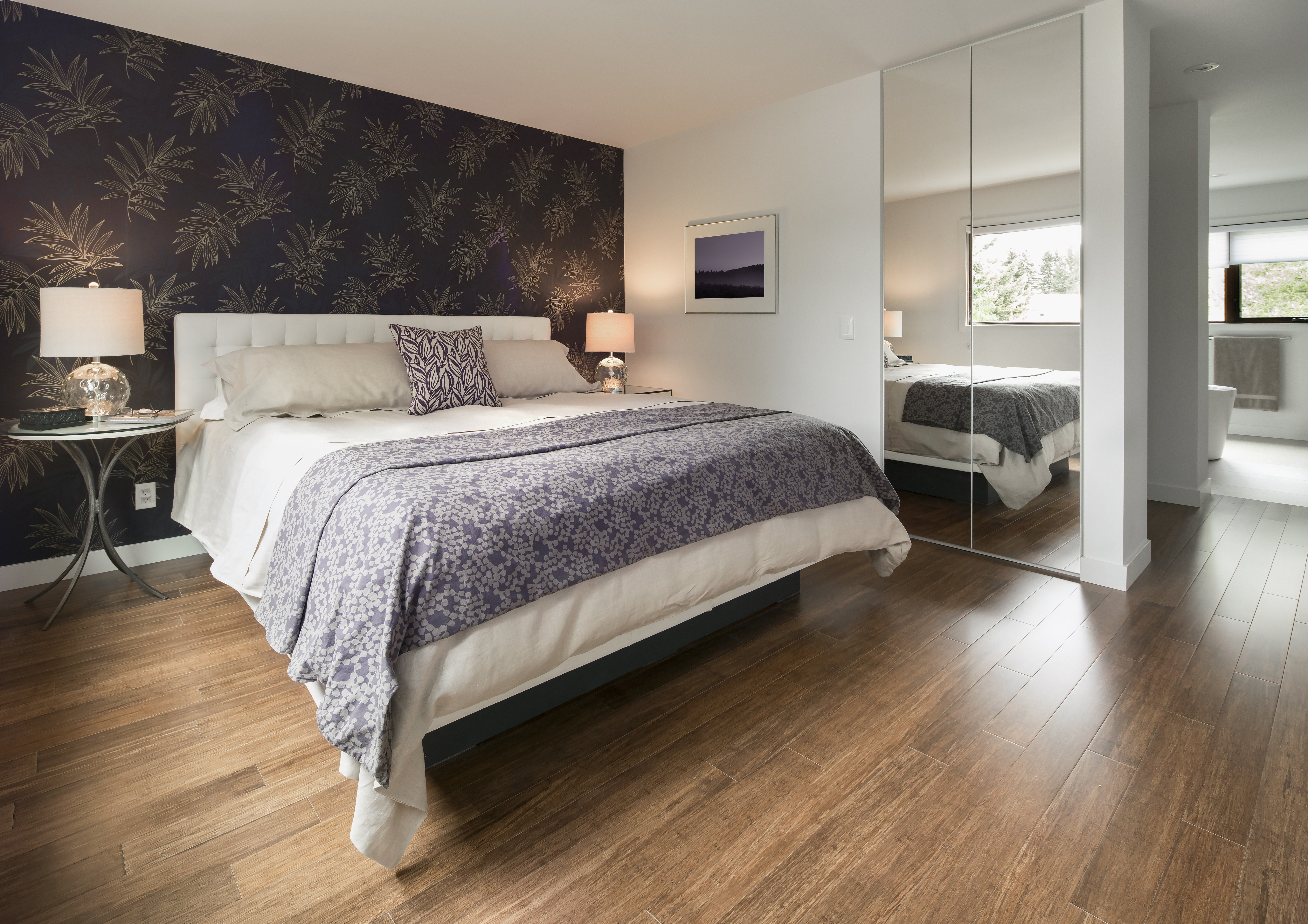 Dark Wood Floor Bedroom Lovely How to Mix Wood Floors In Homes Home Guides