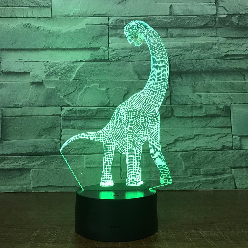 Decorative Light for Bedroom Awesome Creative Dinosaur Nightlight 3d Light Led Living Room Bedroom Table Lamp Child Room Decoration Lamps Decoration Light wholesale Dropshipping