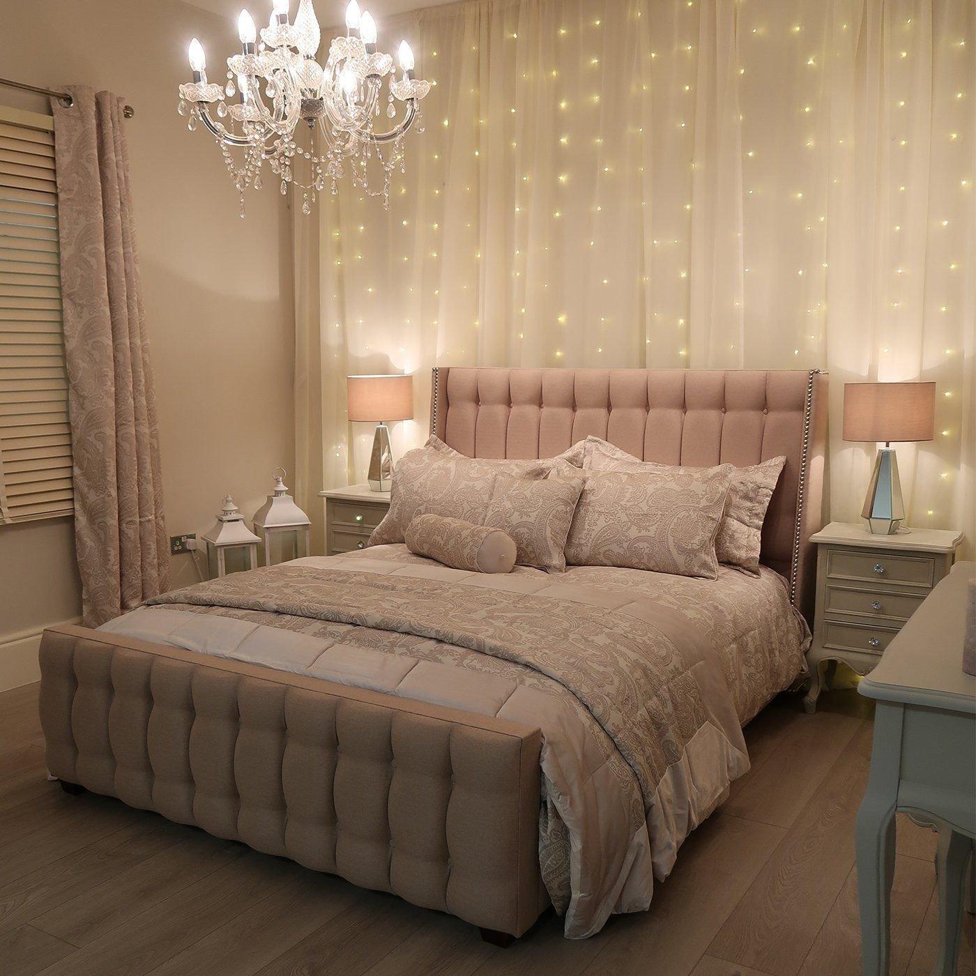 Decorative Light for Bedroom Lovely Led Fairy Light Curtain Kit