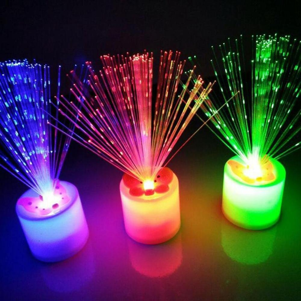 Decorative Light for Bedroom New Led Colorful Electronic Candle Night Light Chrismas Holiday Bedroom Living Room Decoration