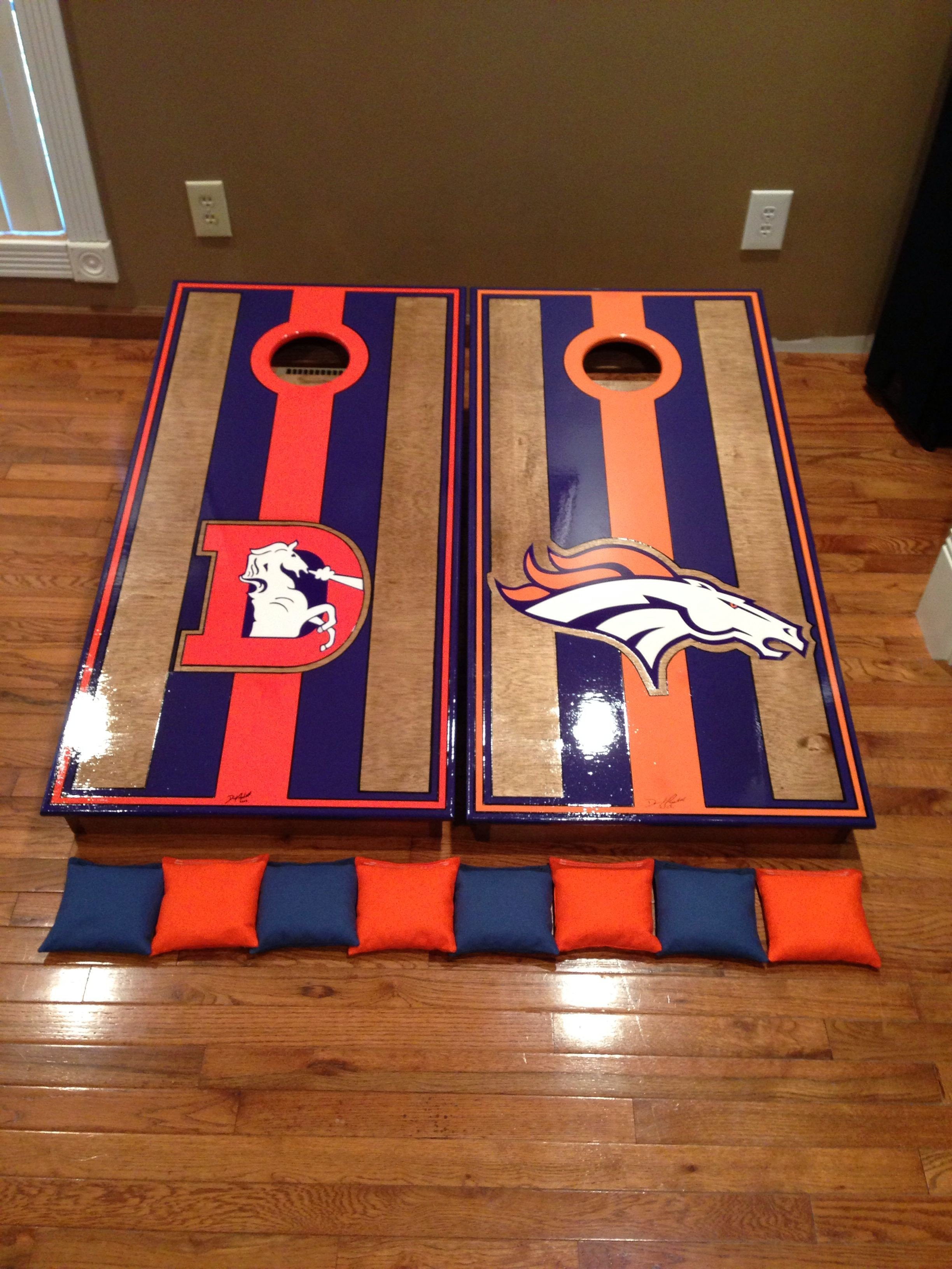 Denver Broncos Bedroom Set Awesome Denver Broncos Boards