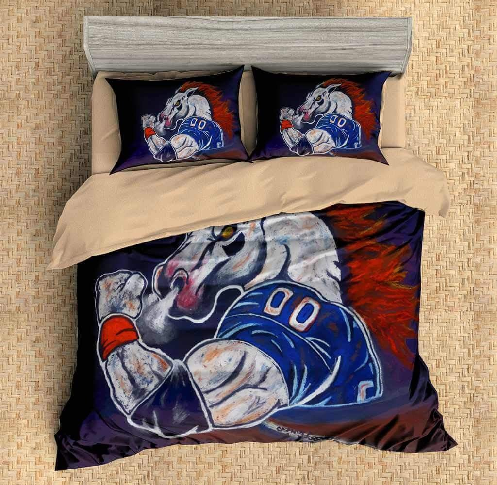 Denver Broncos Bedroom Set Fresh 3d Customize Denver Broncos Bedding Set Duvet Cover Set Bedroom Set Bedlinen
