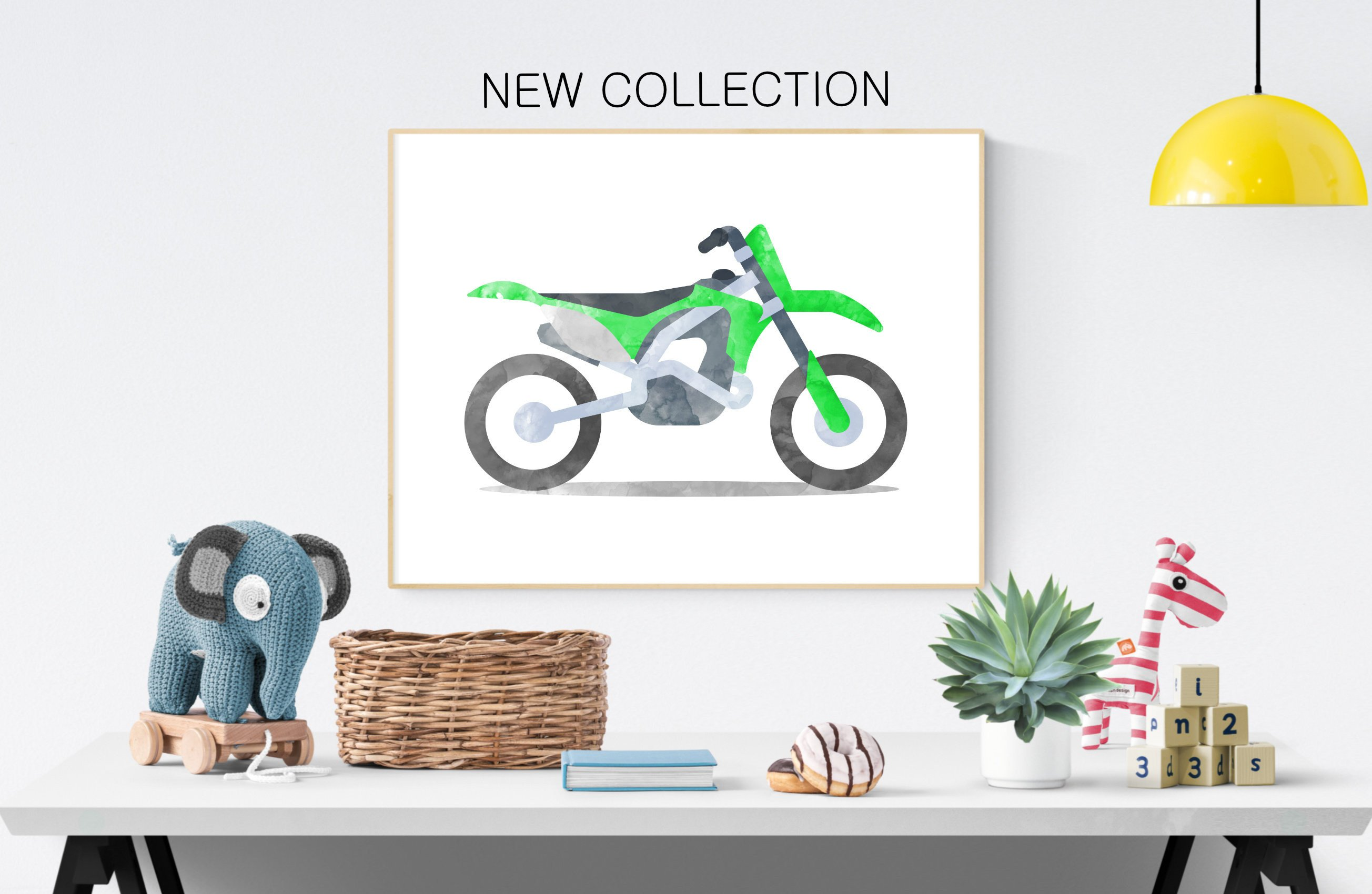 Dirt Bike Bedroom Set Fresh Dirt Motorcycle Printable Watercolor Motorbike Nursery Boy Wall Art Boys Bedroom Decor Boy Birthday T Travel Wall Decor Kids Print