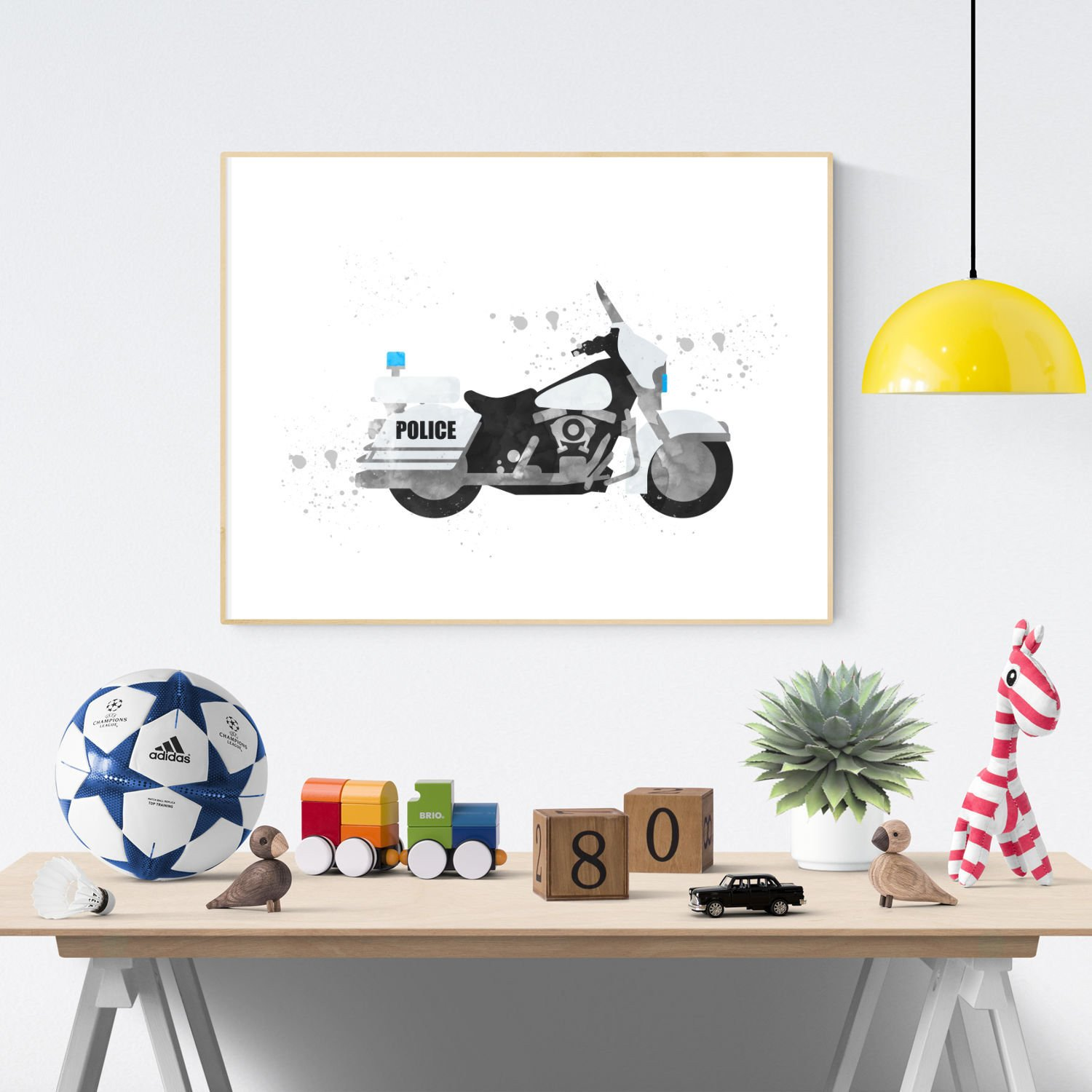 Dirt Bike Bedroom Set New Police Motorcycle Print Police Printable Motorbike Wall Art Bike Print Motorcycle Printable Boy Bedroom Wall Art Police Print