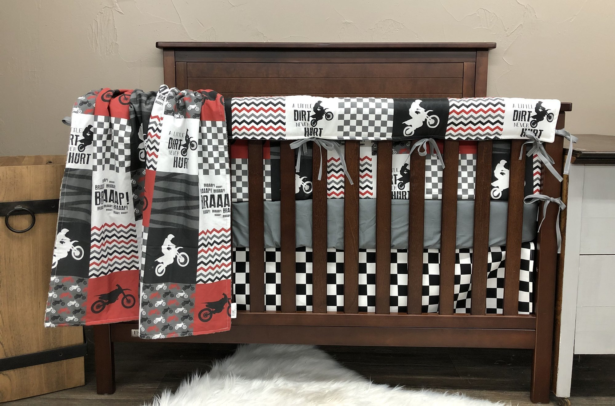 Dirt Bike Bedroom Set Unique Motocross Collection Dbc Baby Bedding Co