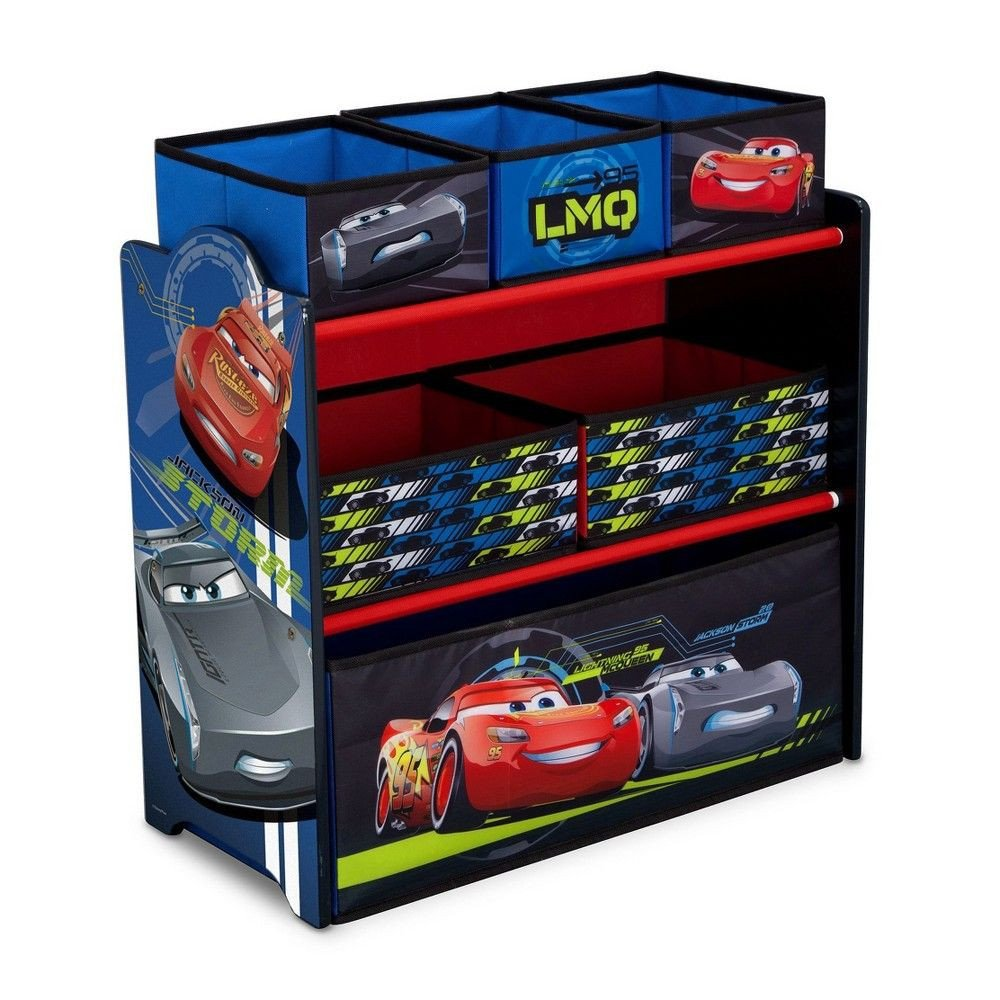 Disney Cars Bedroom Set Best Of Delta Children Disney Pixar Cars Multi Bin toy organizer