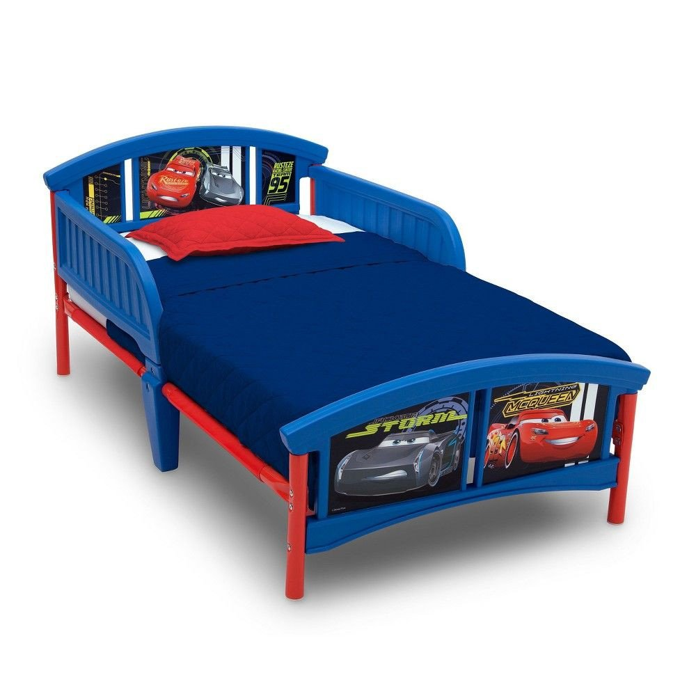 Disney Cars Bedroom Set Fresh Disney Pixar Cars Plastic toddler Bed Multi Colored
