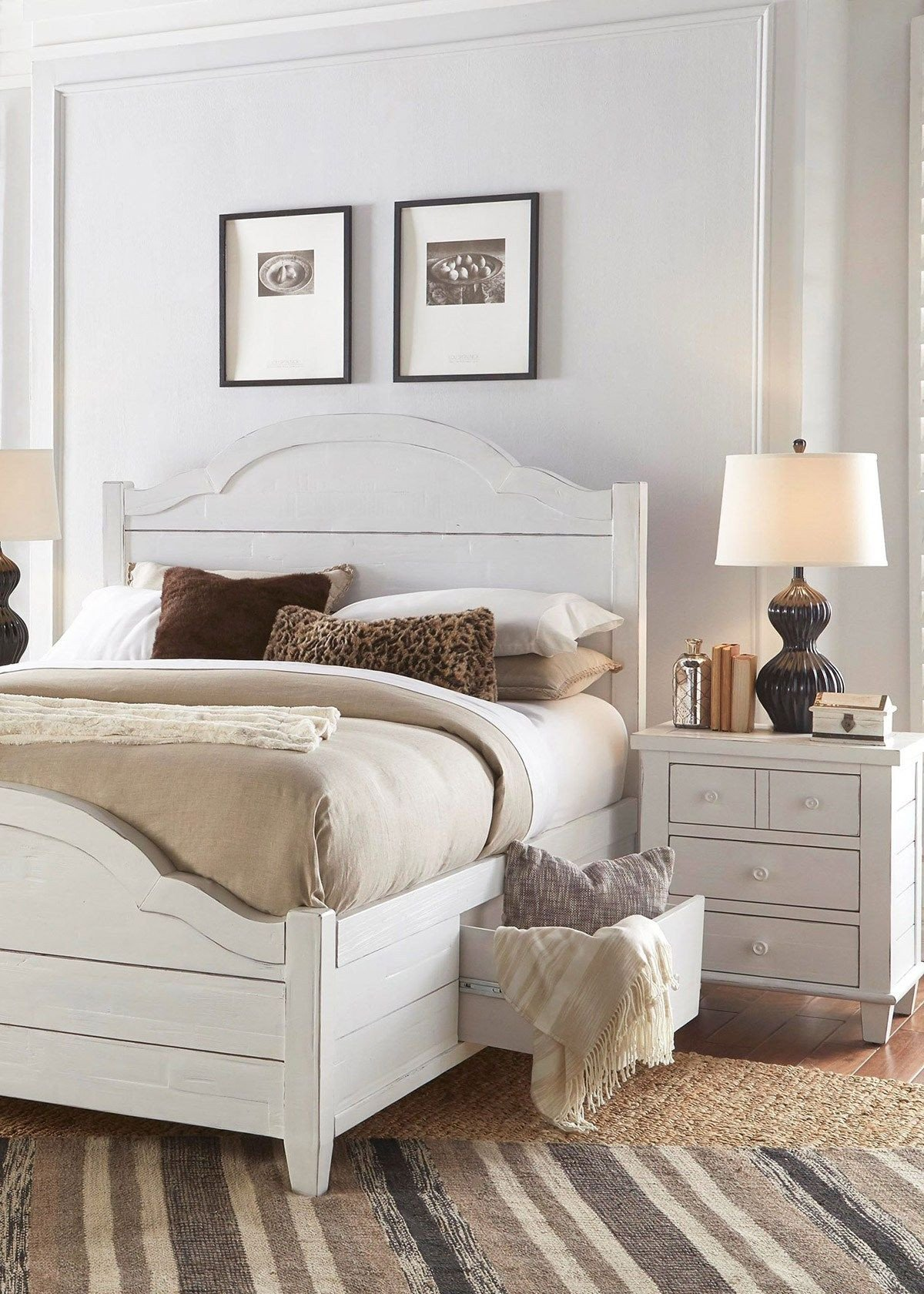 Distressed White Bedroom Furniture Best Of How to Turn Your Master Bedroom Into A Restful Retreat