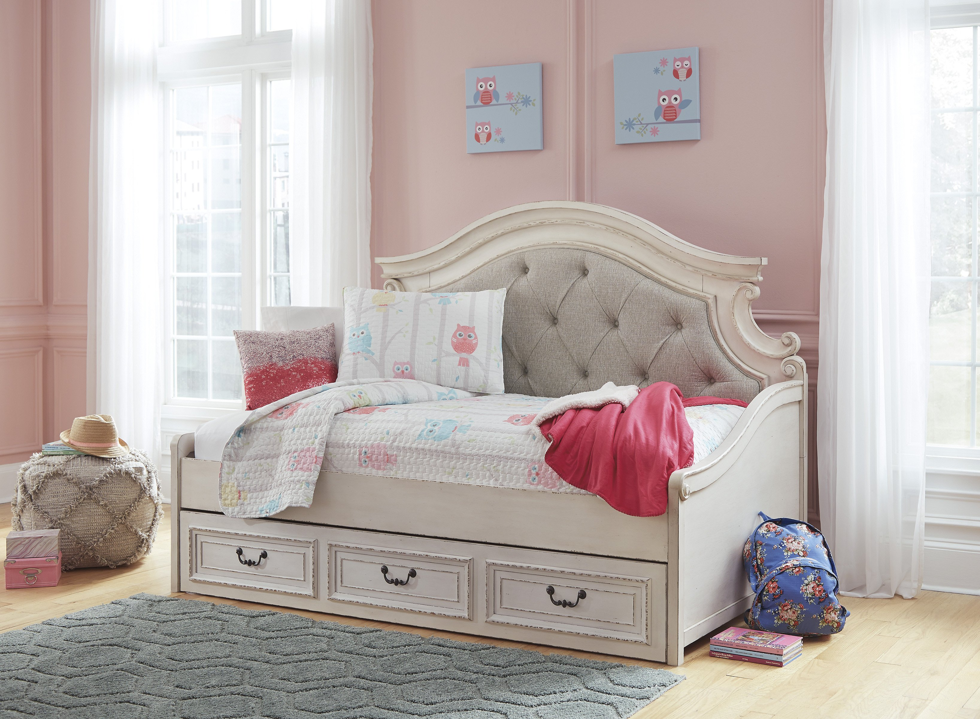 Distressed White Bedroom Furniture Fresh ashley Furniture Realyn Daybed