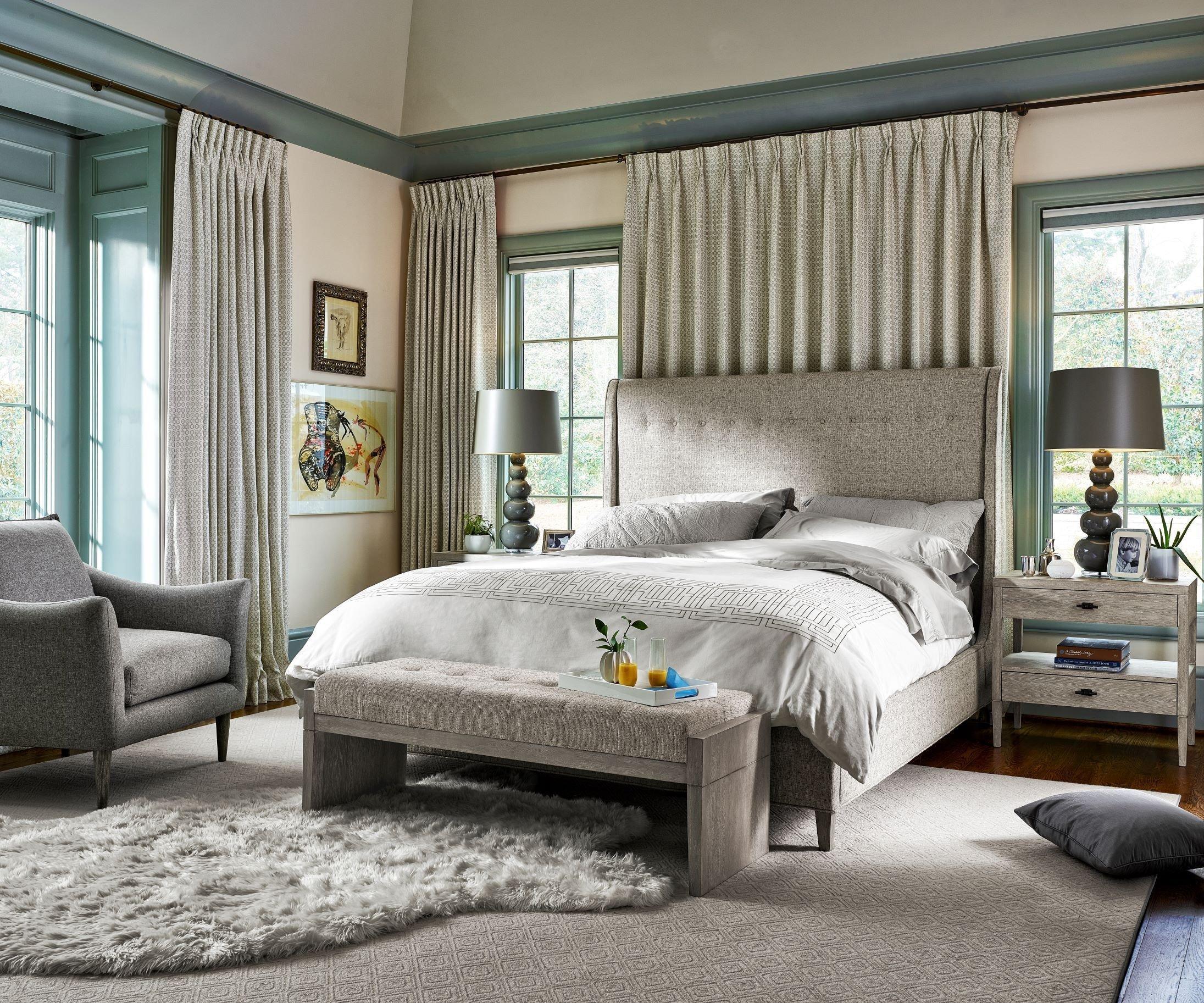 Distressed White Bedroom Furniture Inspirational Midtown Distressed Flannel Panel Bedroom Set