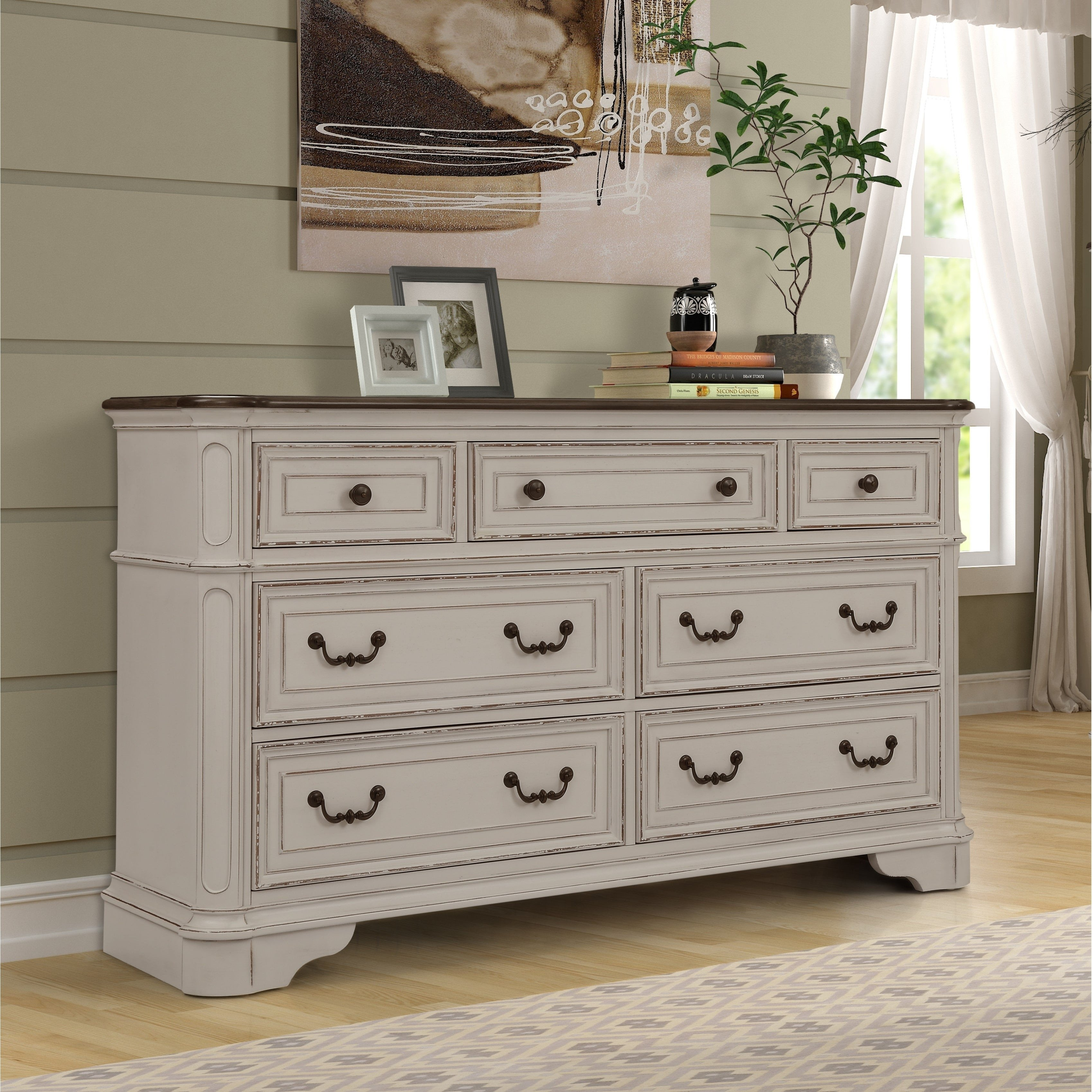 Distressed White Bedroom Furniture Luxury the Gray Barn Ariana Hills Antique White and Oak Wood Dresser