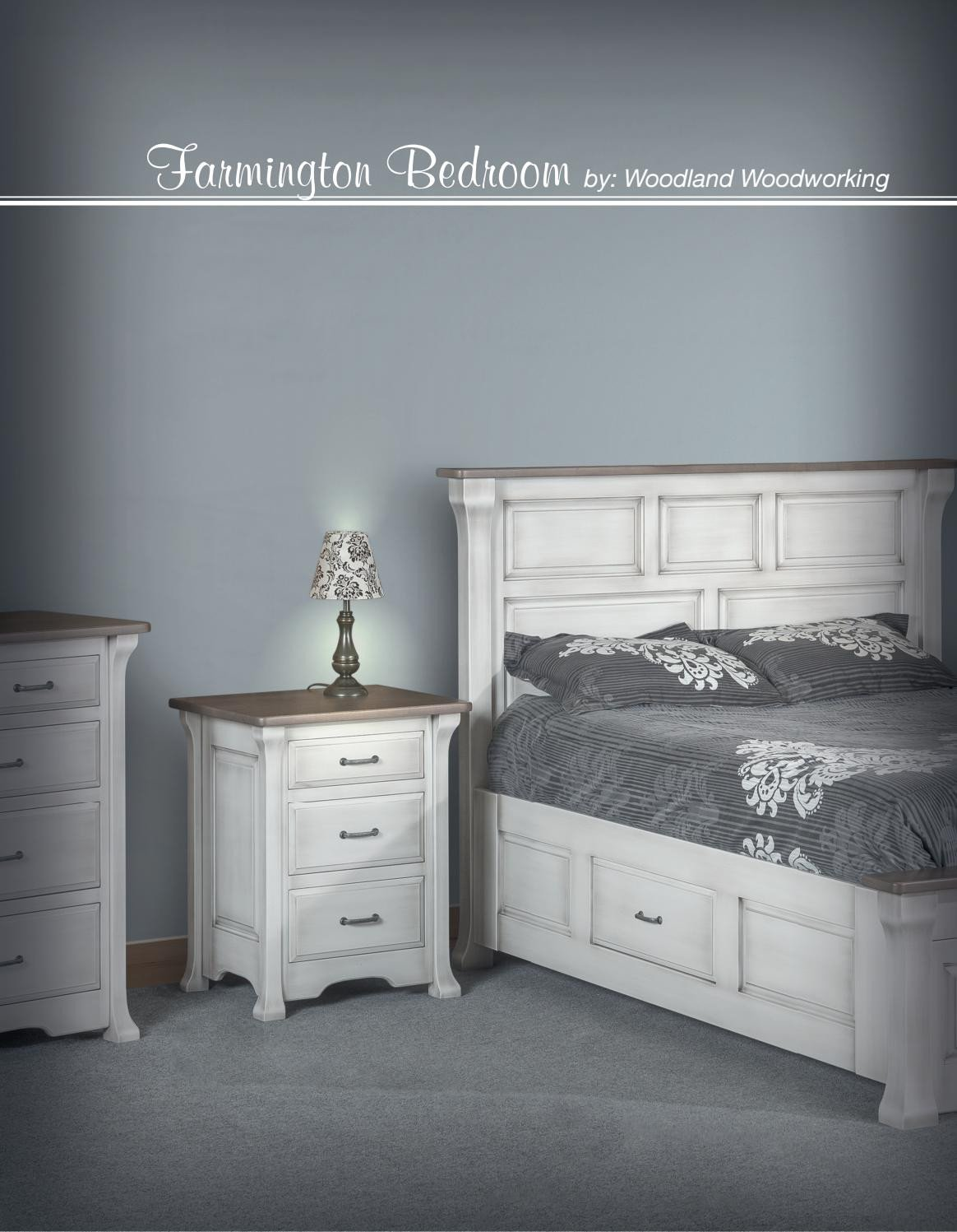 Distressed White Bedroom Furniture Unique 2018 Woodland Woodworking New Bedroom Catalog E&g Amish