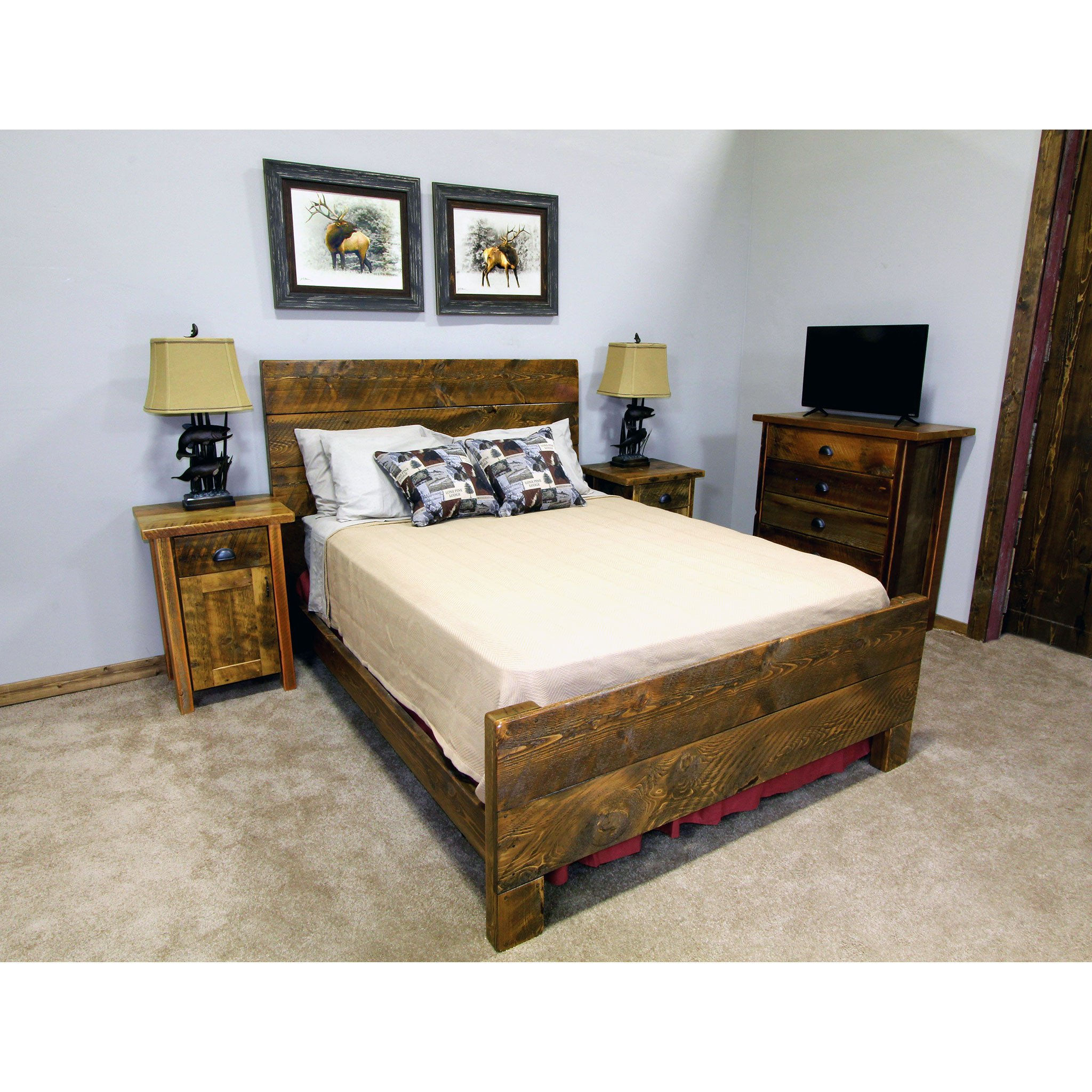 Distressed Wood Bedroom Furniture Fresh Modern Wooden Bed