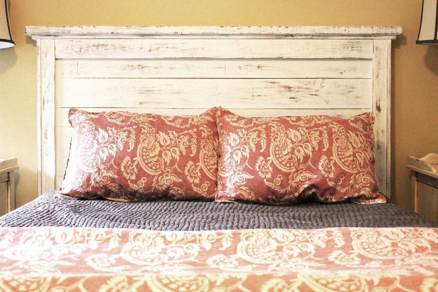 Distressed Wood Bedroom Furniture New Reclaimed Wood Headboard with the Boards From Our Old