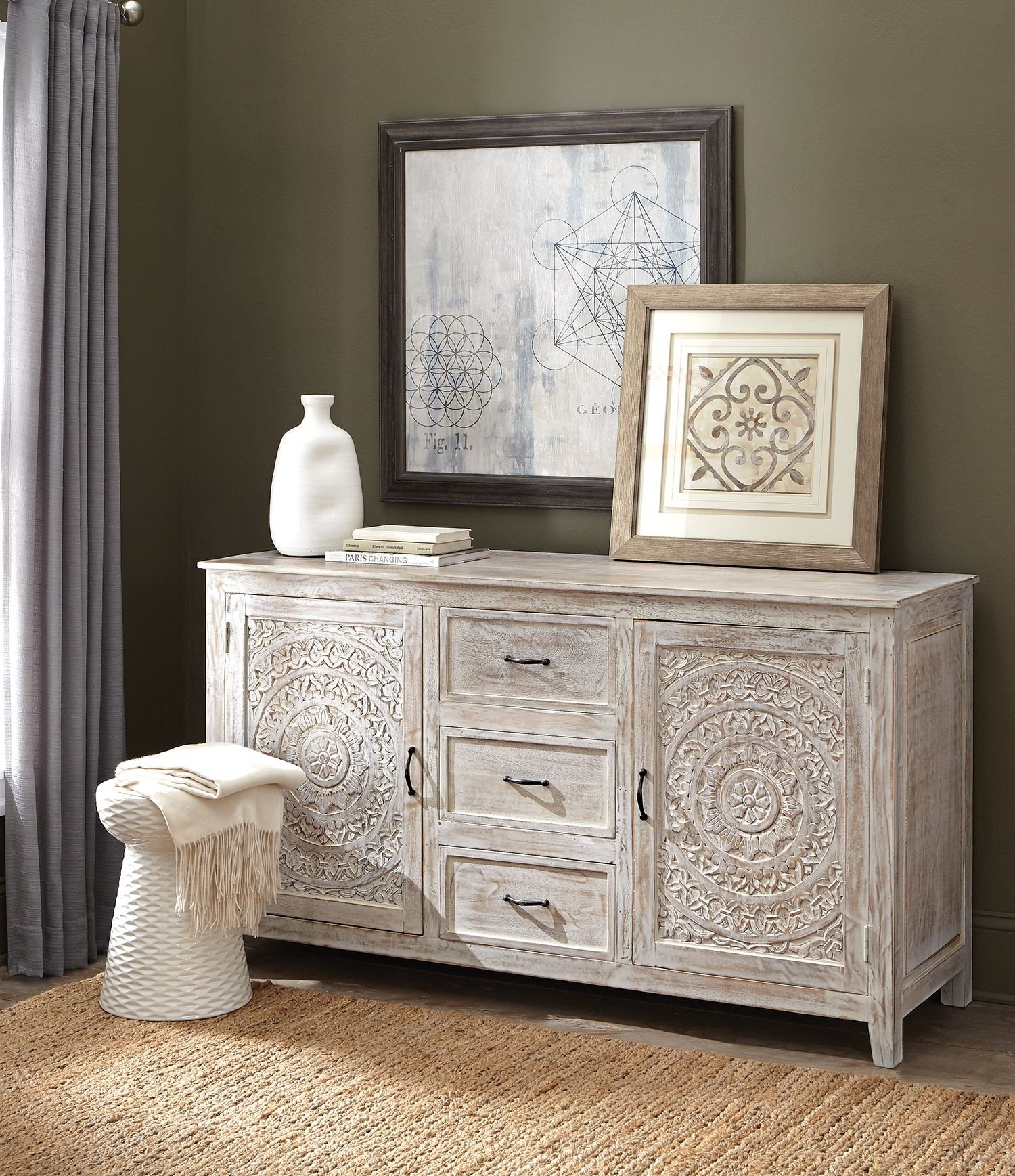 Dresser for Small Bedroom Elegant Home Decorators Collection Chennai 3 Drawer White Wash