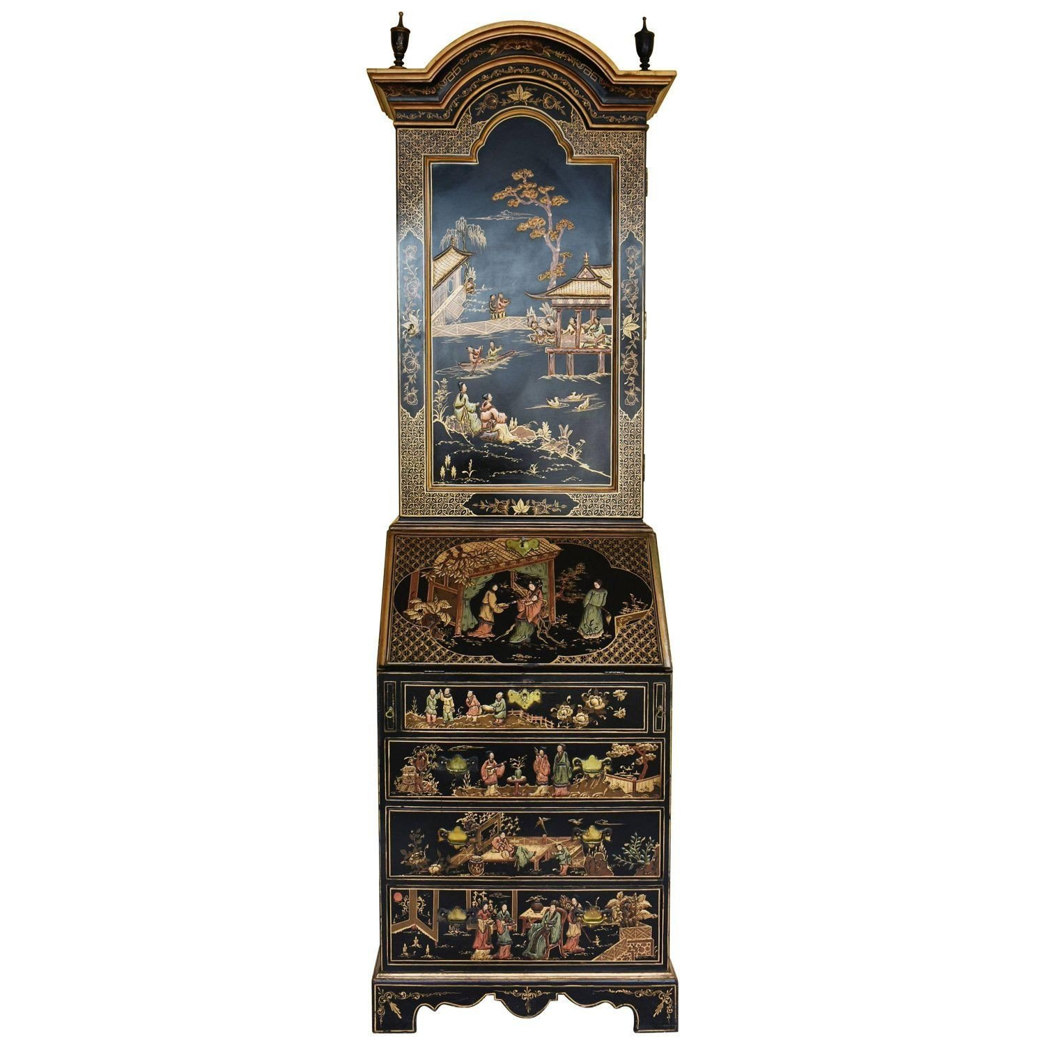 Drexel Heritage Bedroom Furniture Best Of 20th Century Chinoiserie Secretary Bookcase