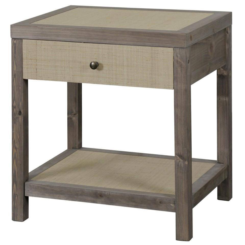 End Tables for Bedroom Best Of Modern Gray End Table Wood Style Craft Bkf2033
