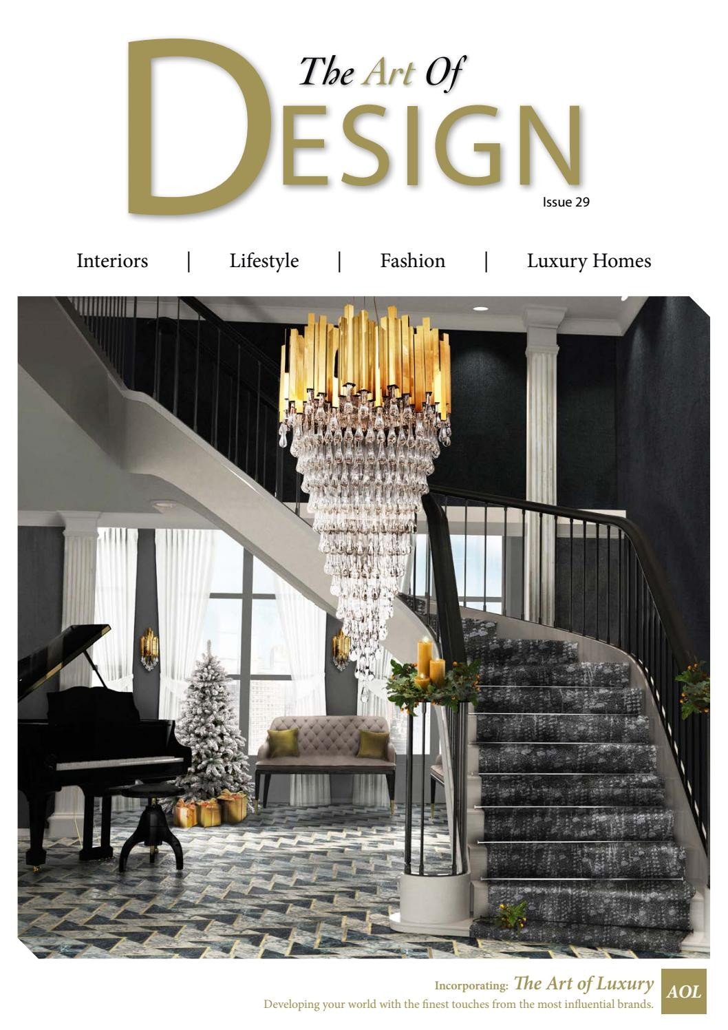 Fake Chandelier for Bedroom Elegant the Art Of Design issue 29 2017 by Mh Media Global issuu