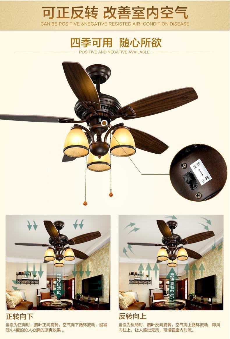 Fan Size for Bedroom Inspirational 2019 Wooden 48inch Fan Light Chandelier Fans Decorative Fan Lighting Chandelier Living Room Bedroom Beauty Chandelier Fan with Remote Control From