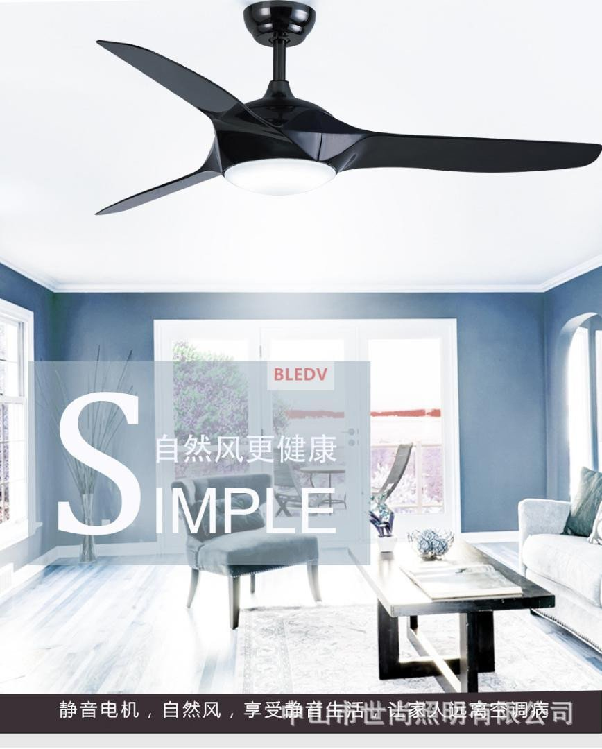 Fan Size for Bedroom New 2019 Dimming 52 Inch Led White Black Ceiling Fans with Lights Remote Control Living Room Bedroom Home Ceiling Light Fan Lamp From Fried $285 32