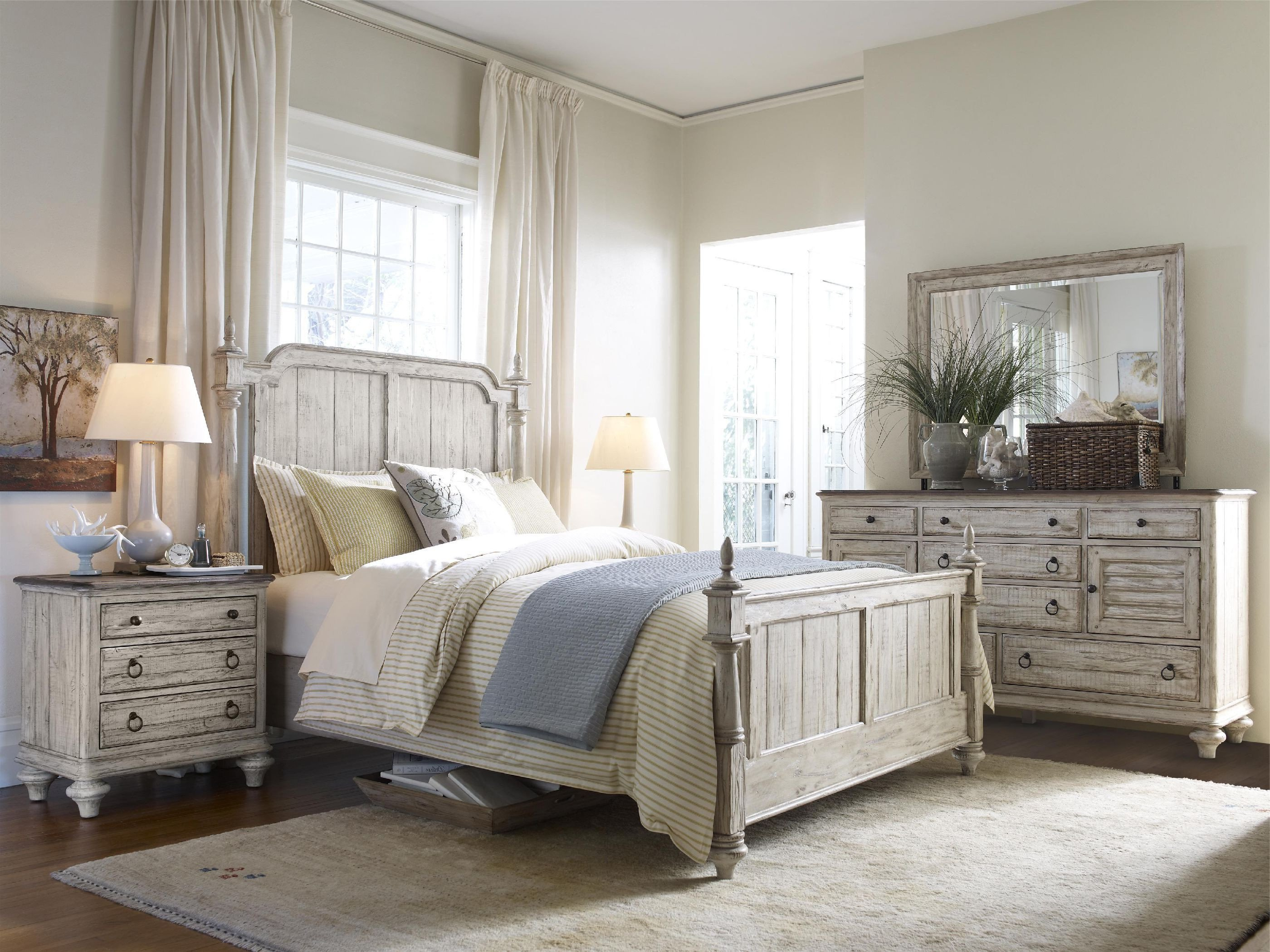 Farmhouse Style Bedroom Set Awesome Weatherford King Panel Bedroom Group Gp B789