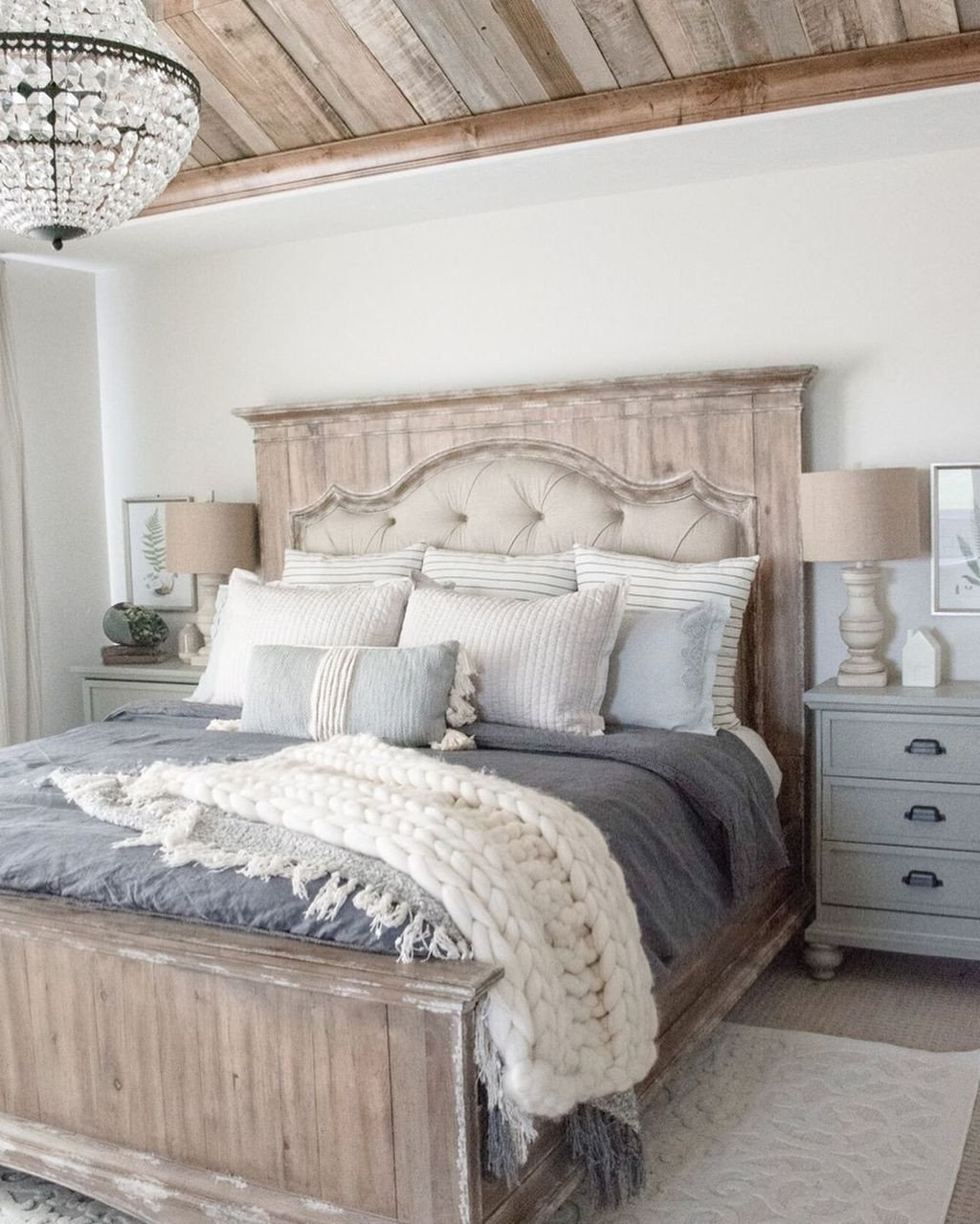 Farmhouse Style Bedroom Set Beautiful Wooden Table Diy Wood Projects Wood Cleaner Free Woodworking