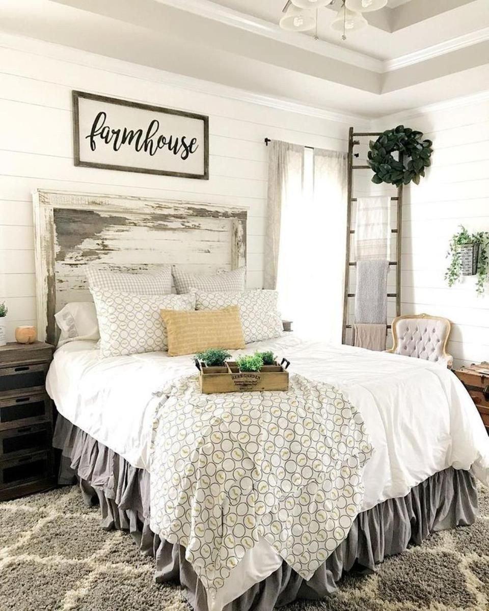 Farmhouse Style Bedroom Set Fresh Vintage Farmhouse Bedroom Decorating Ideas 20