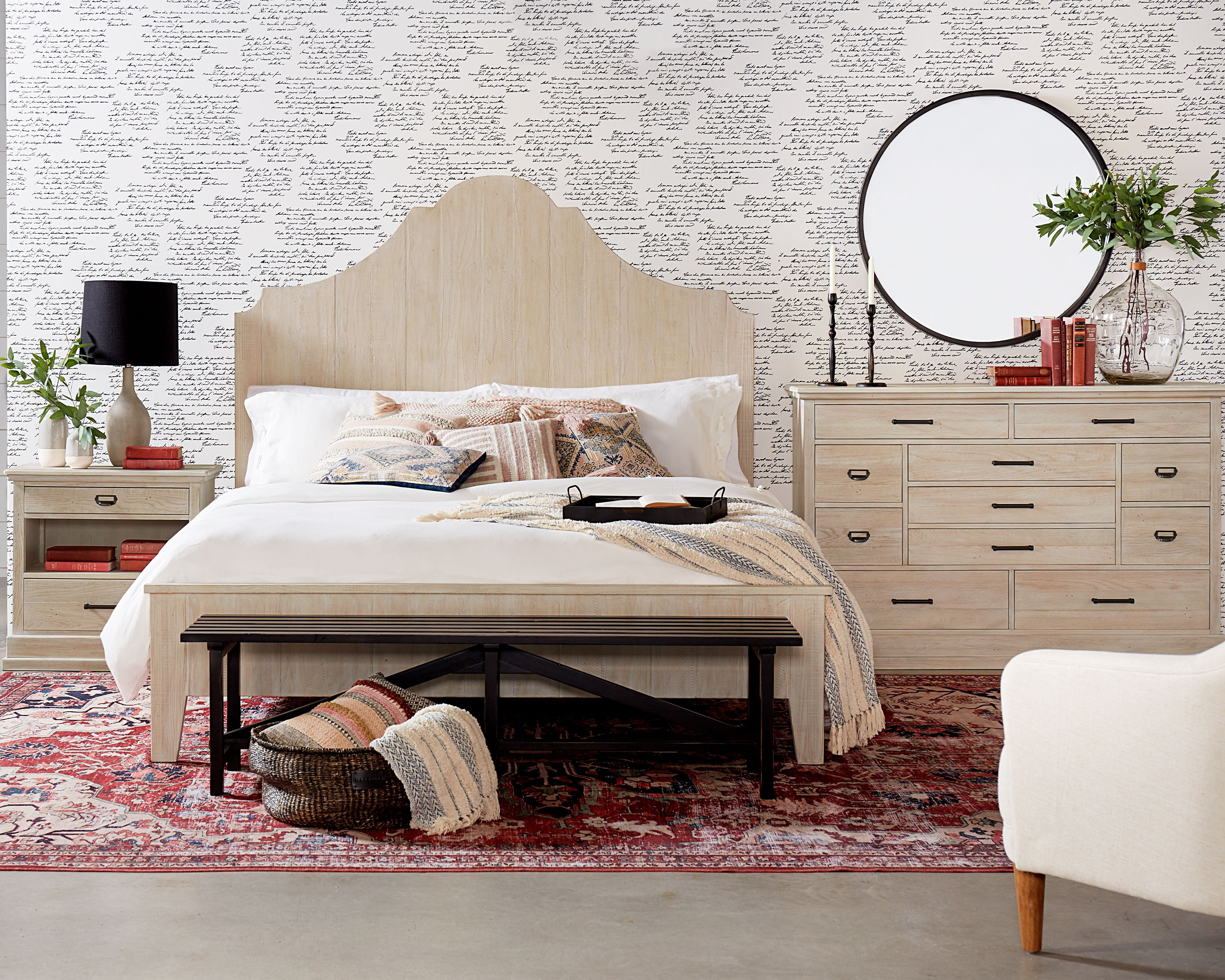 Farmhouse Style Bedroom Set Lovely Daybreak Bed with ashland Dresser Magnolia Home