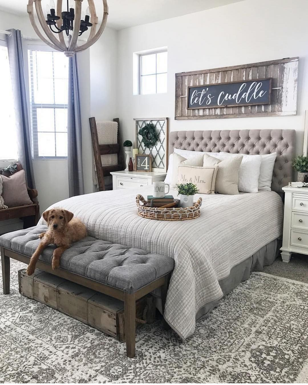 Farmhouse Style Bedroom Set Luxury Stay Cozy It is C❄️ld Outside Love Shandy S Cozy Bedroom