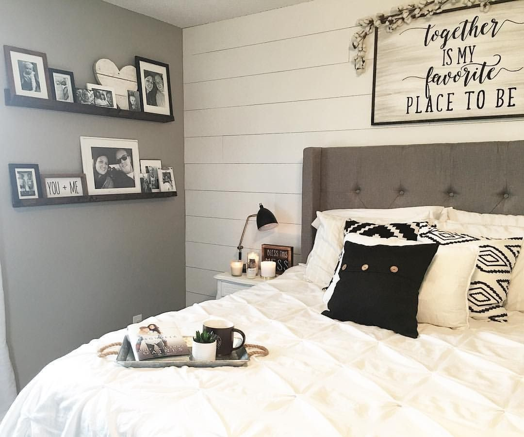 Farmhouse Style Bedroom Set New Master Bedroom Decor Black and White Decor Modern