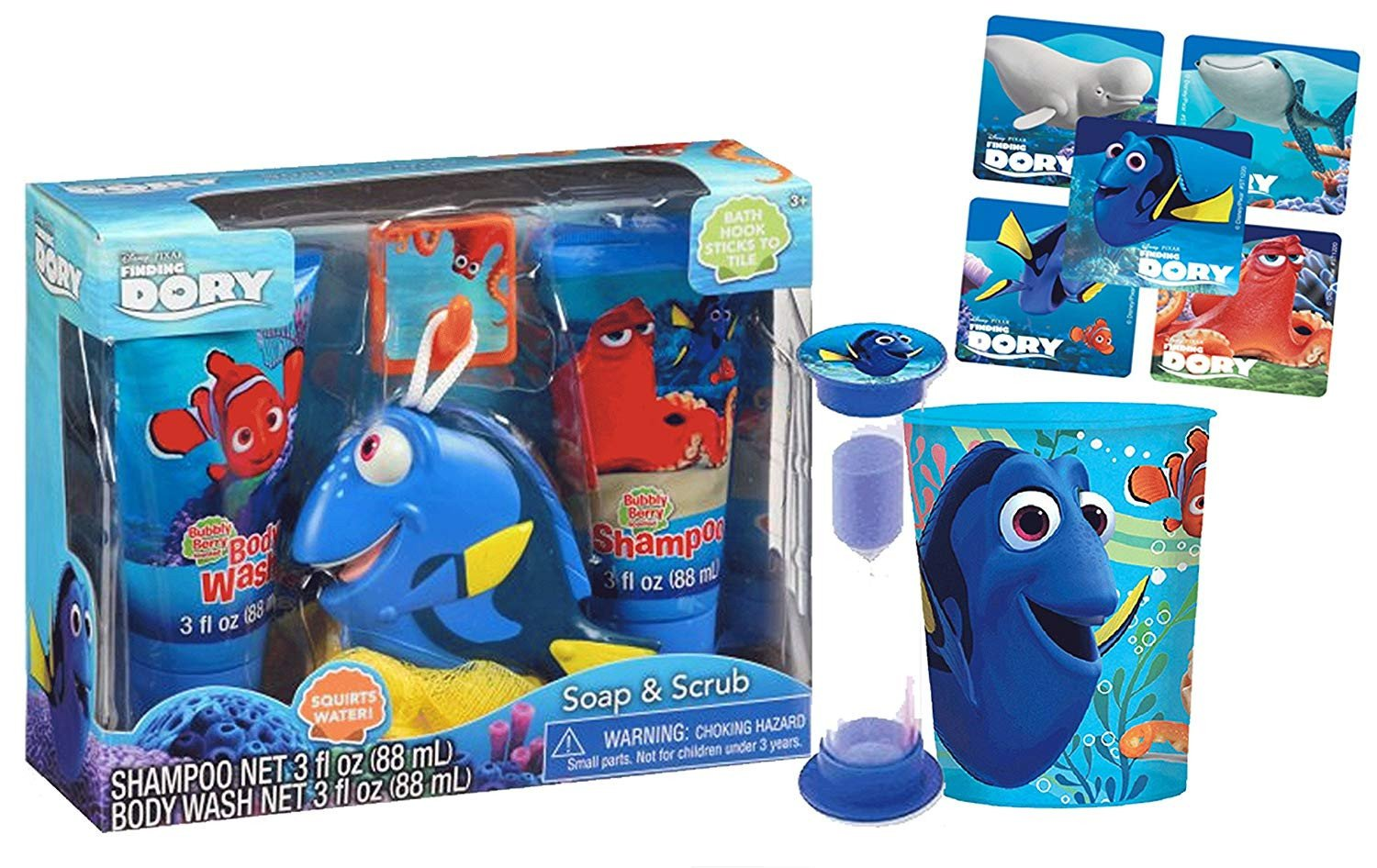 Finding Dory Bedroom Decor Elegant Gbg Beauty Disney Finding Dory 6pc Bath Time Wash Buddy Gift