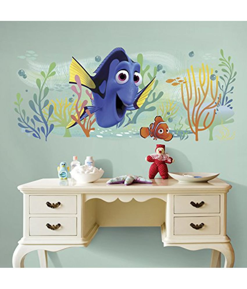 Finding Dory Bedroom Decor Fresh asian Paints Nilaya Finding Dory and Nemo Giant Wall Graphic