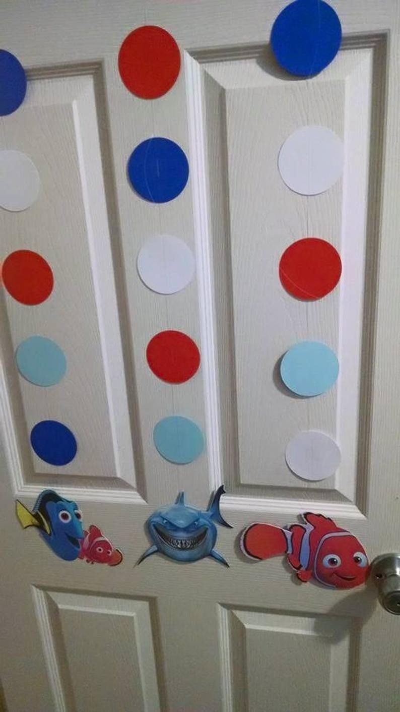 Finding Dory Bedroom Decor Fresh Finding Nemo Hanging Cutout Danglers Birthday Party Decorations
