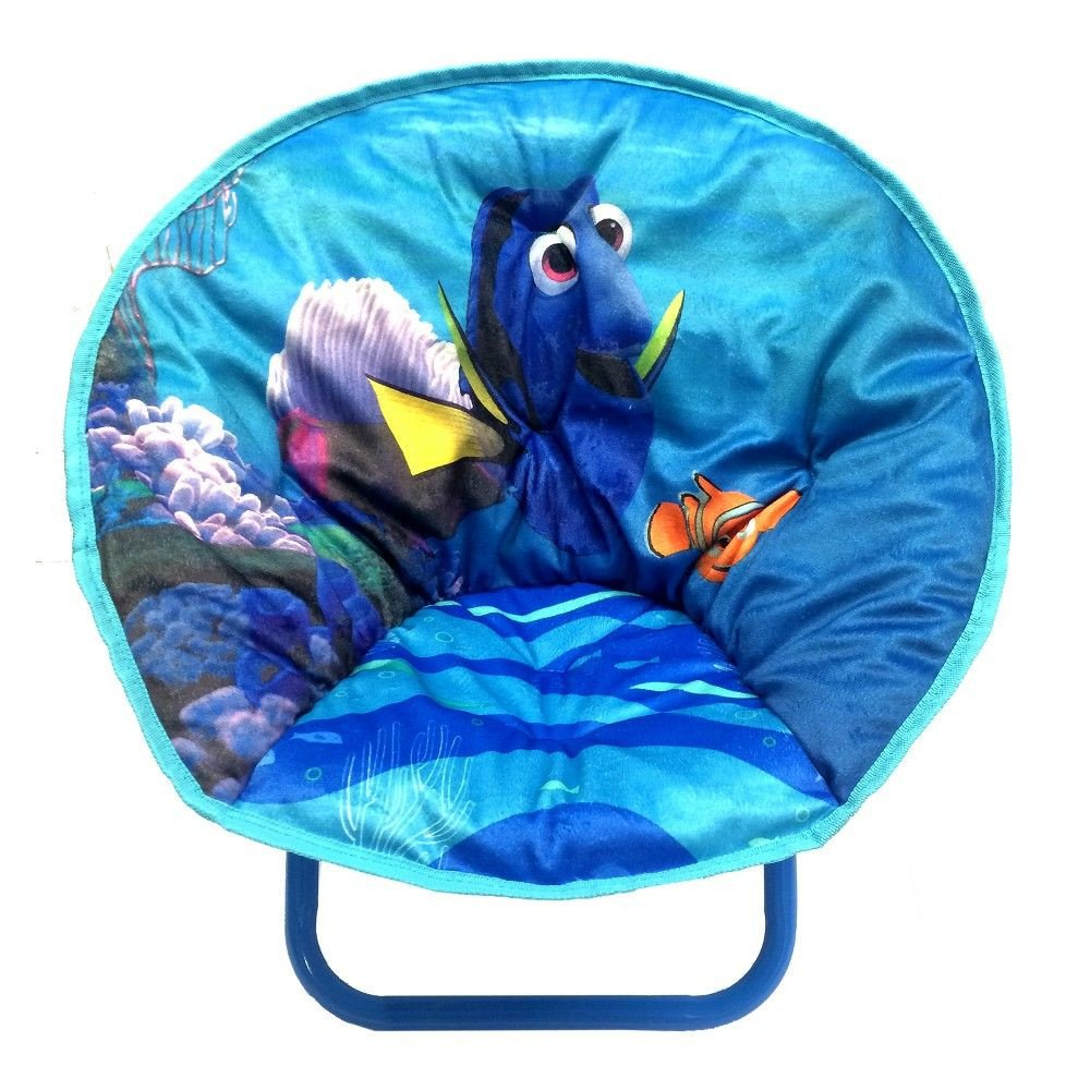 Finding Dory Bedroom Decor Inspirational Disney Finding Dory toddler Saucer Chair Blue