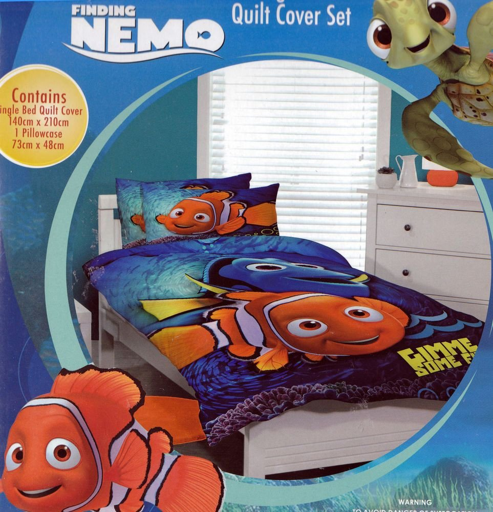 Finding Dory Bedroom Decor Unique Disney Finding Nemo with Dory Kids Single Reversible Duvet