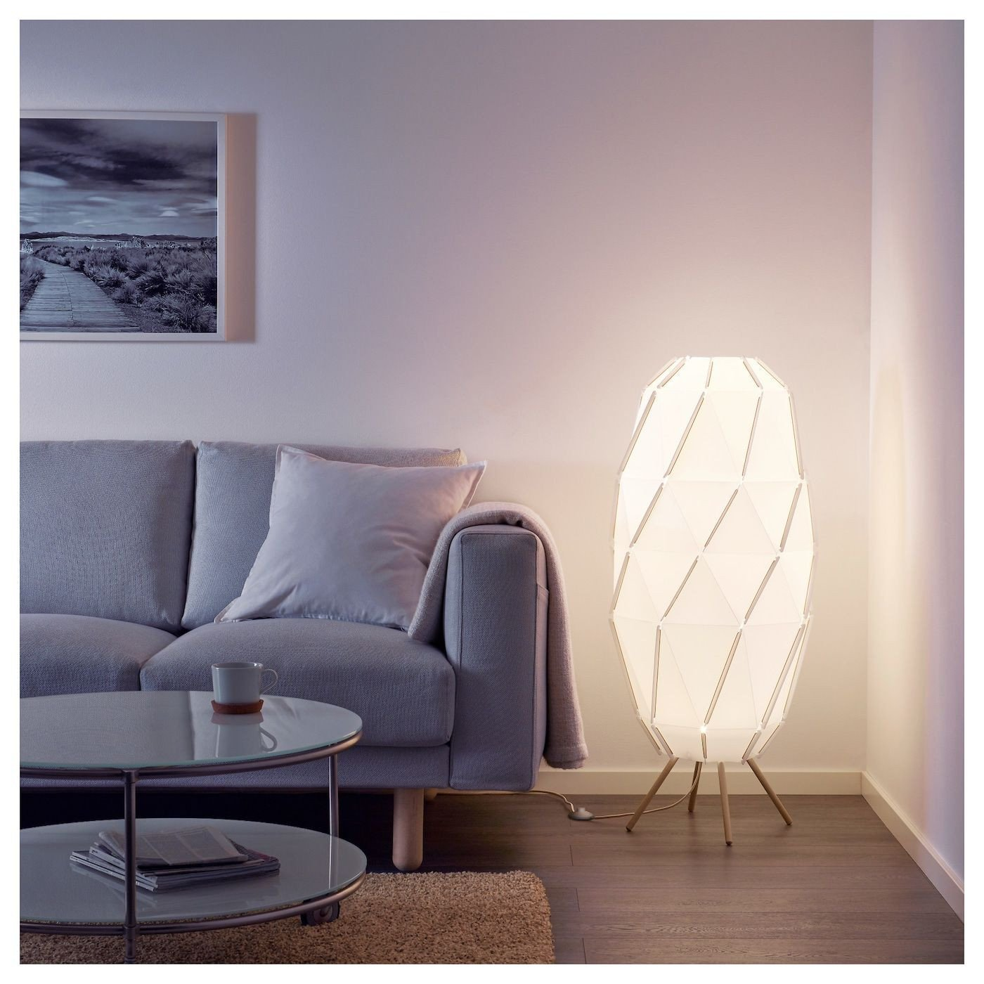 Floor Lamp for Bedroom Inspirational Sj–penna Floor Lamp with Led Bulb White