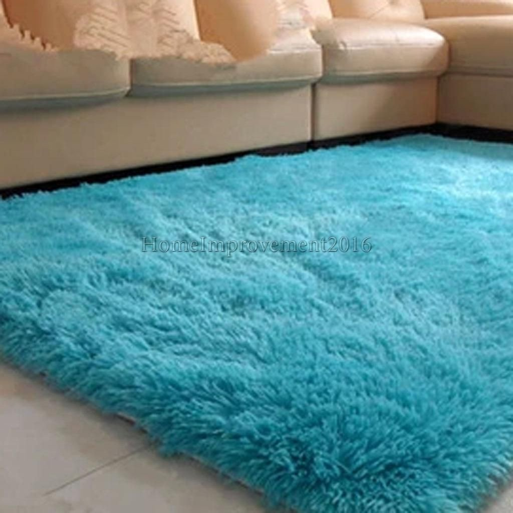 Fluffy Carpet for Bedroom Awesome 9 22 Gbp Luxury Fluffy Floor Carpet soft Rug Room Big