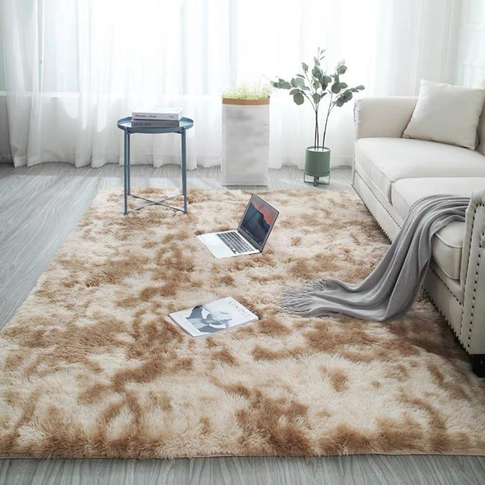 Fluffy Carpet for Bedroom Awesome Ultra soft Carpet Tie Dye Style Gra Nt Color Carpets for the Modern Living Room Rug Fluffy Carpets Bedroom Balcony Hallway Mat Shaw Carpet Colors