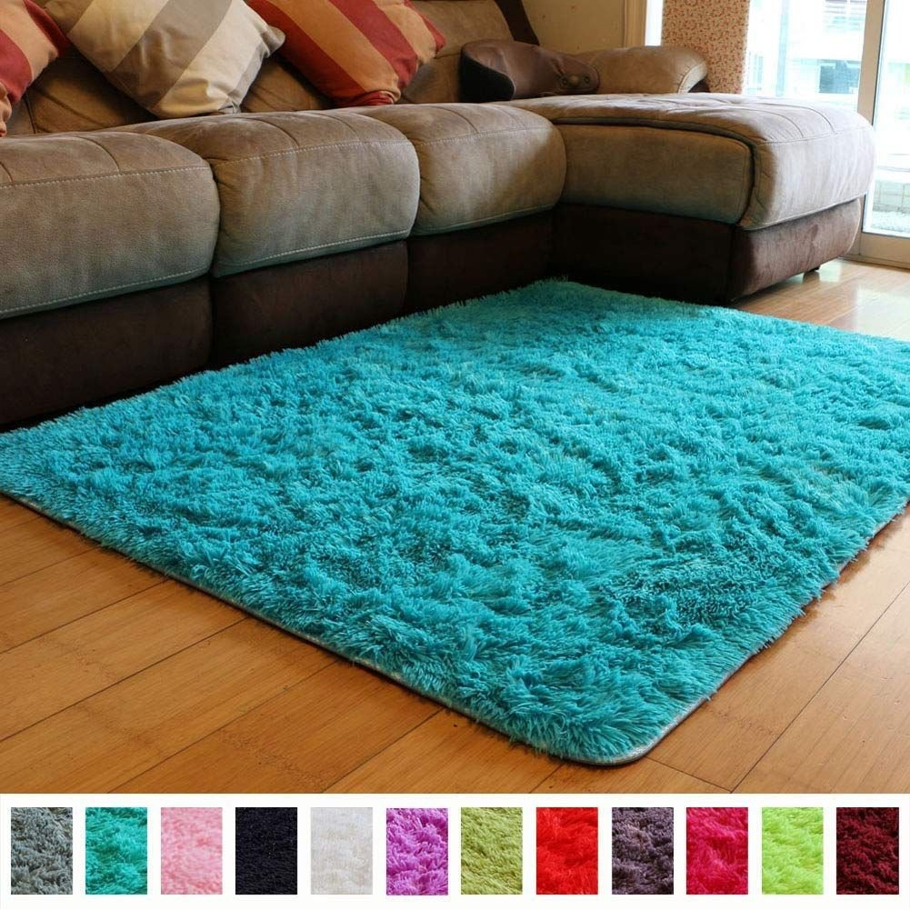 Fluffy Carpet for Bedroom Beautiful Amazon Pagisofe soft Fuzzy Purple area Rugs for Kids
